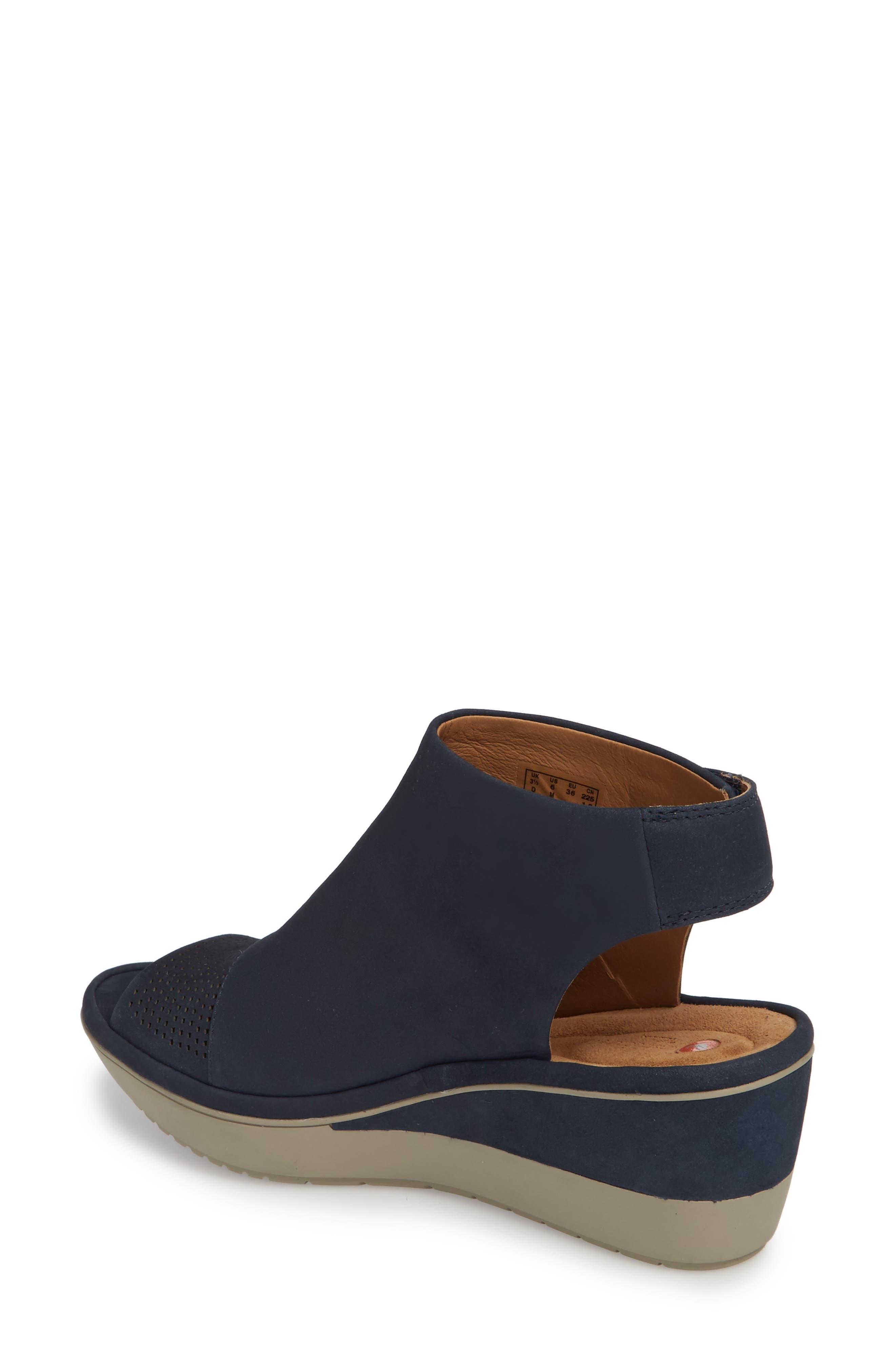 Alternate Image 2  - Clarks® Wynnmere Abie Wedge Sandal (Women)