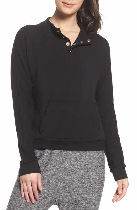 Beyond Yoga Snap Me Down Pullover