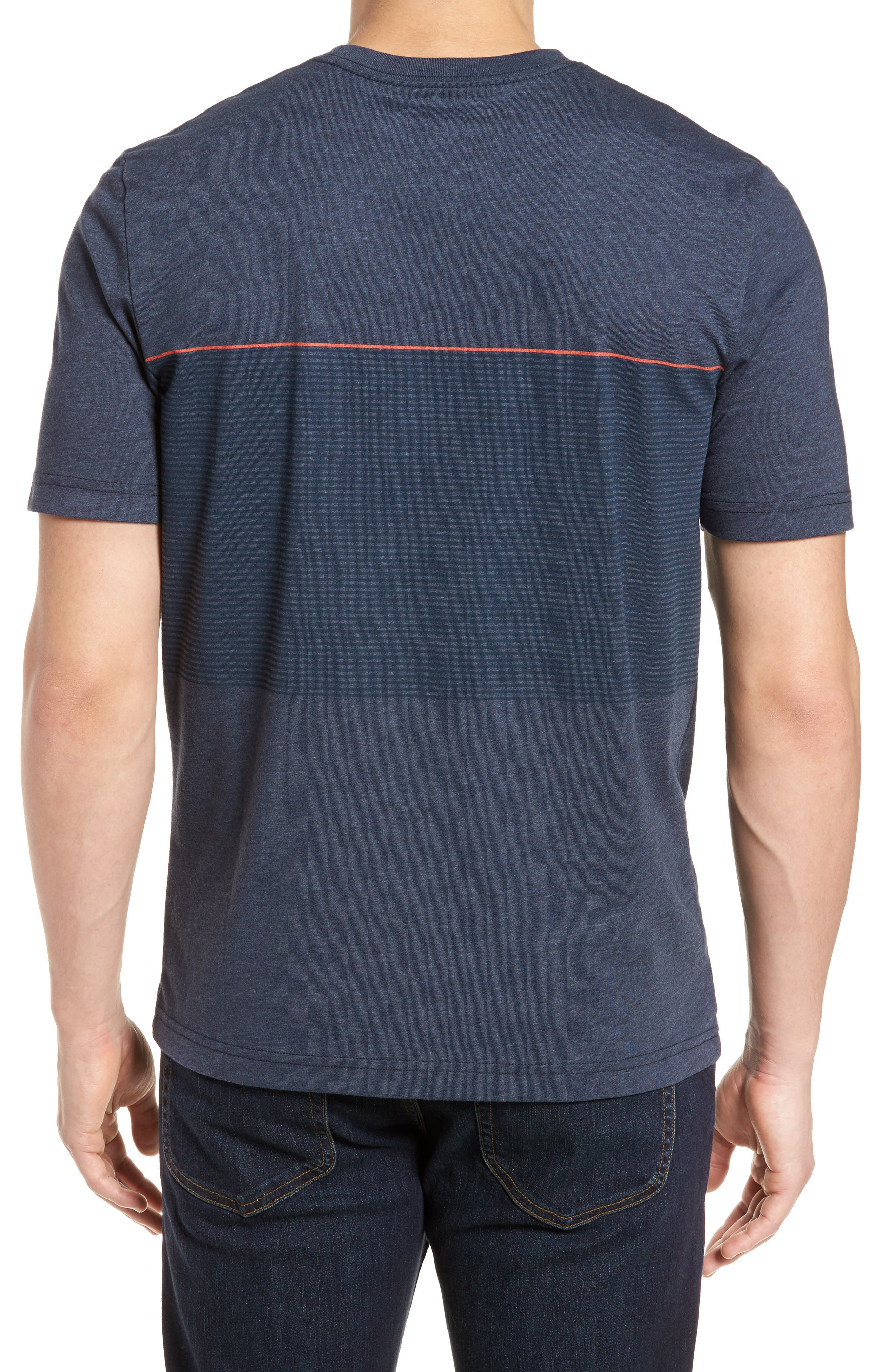 Alternate Image 2  - Travis Mathew Jeramie Stripe Pocket T-Shirt