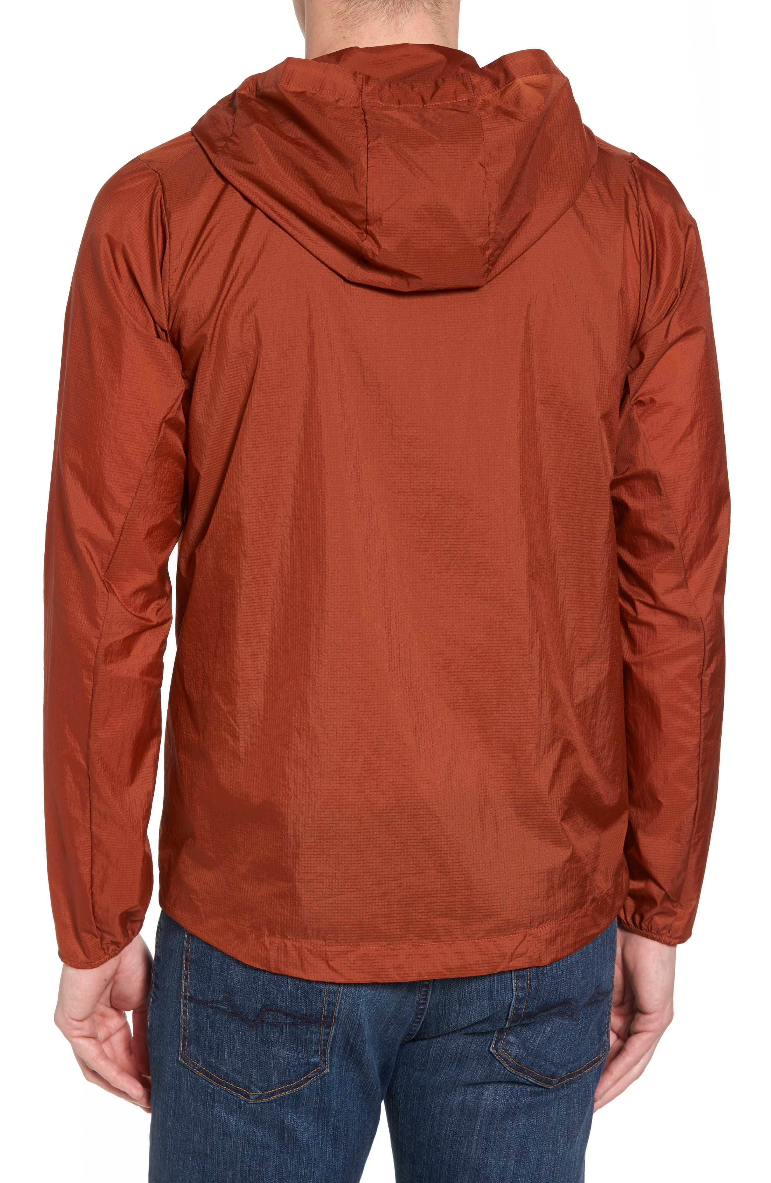 'Houdini' Slim Fit Water Repellent Hooded Jacket,                             Alternate thumbnail 2, color,                             Copper Ore