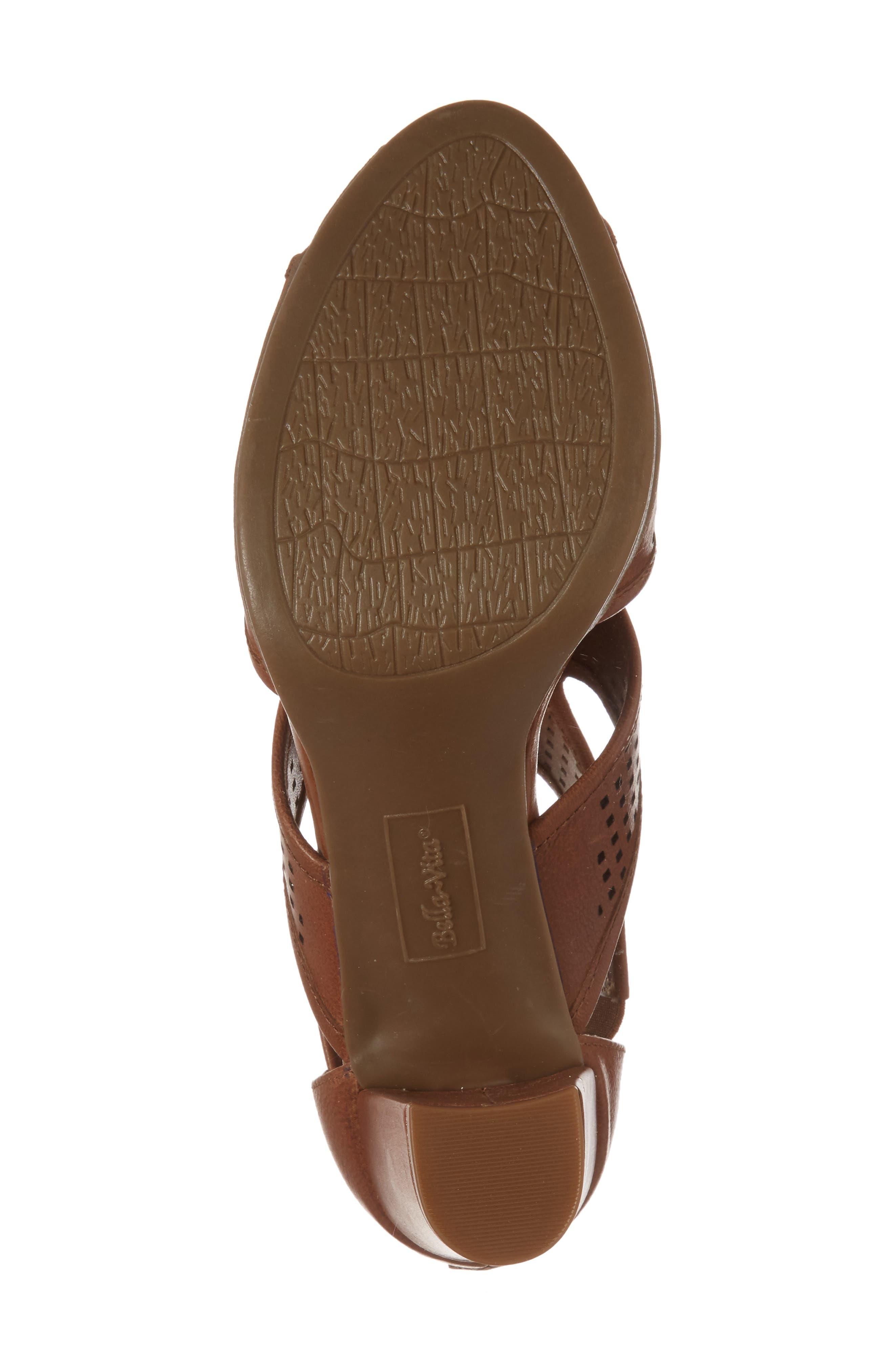 Leslie Sandal,                             Alternate thumbnail 6, color,                             Tan Leather