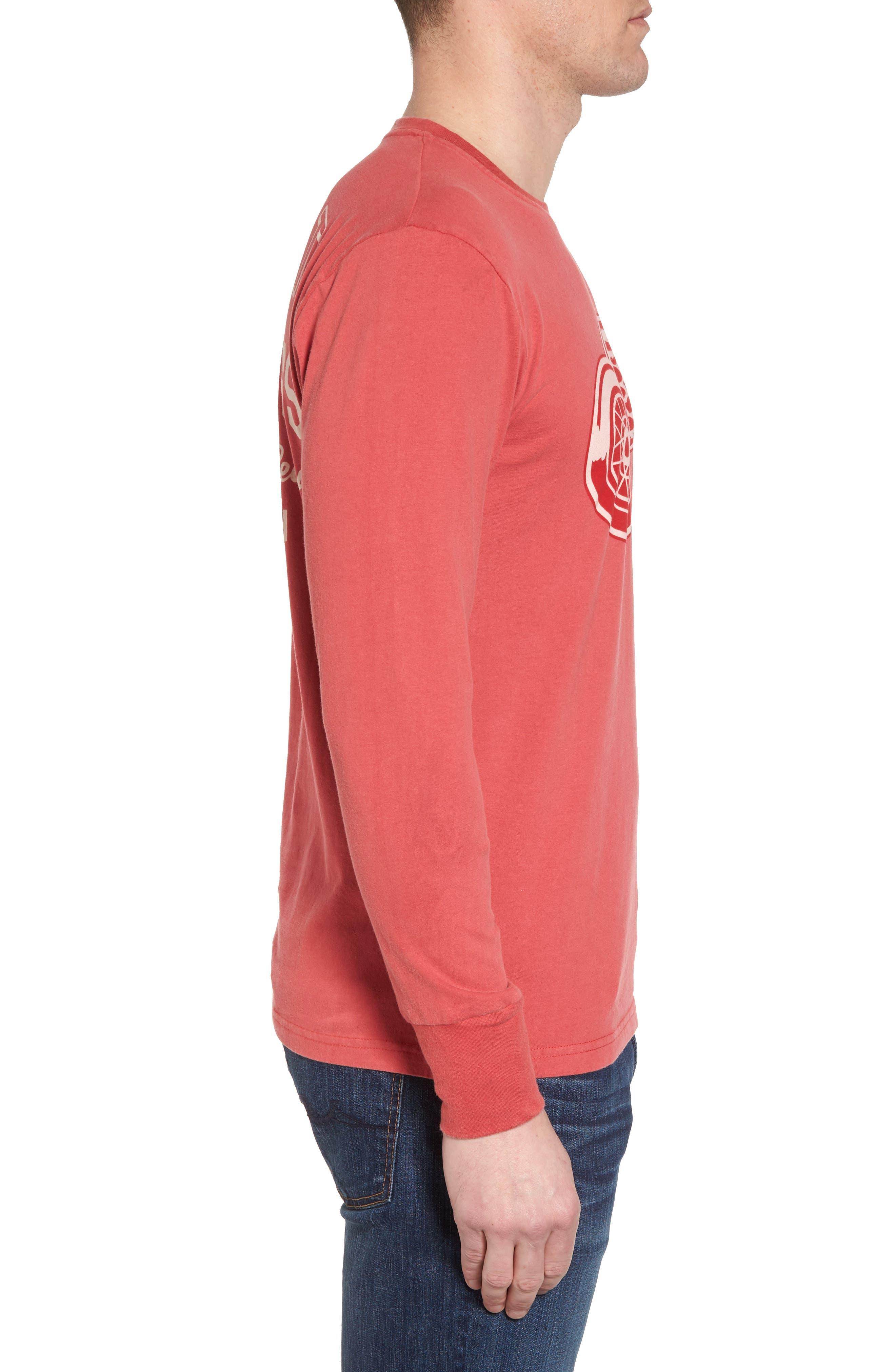 Gresham Red Wings T-Shirt,                             Alternate thumbnail 3, color,                             Red