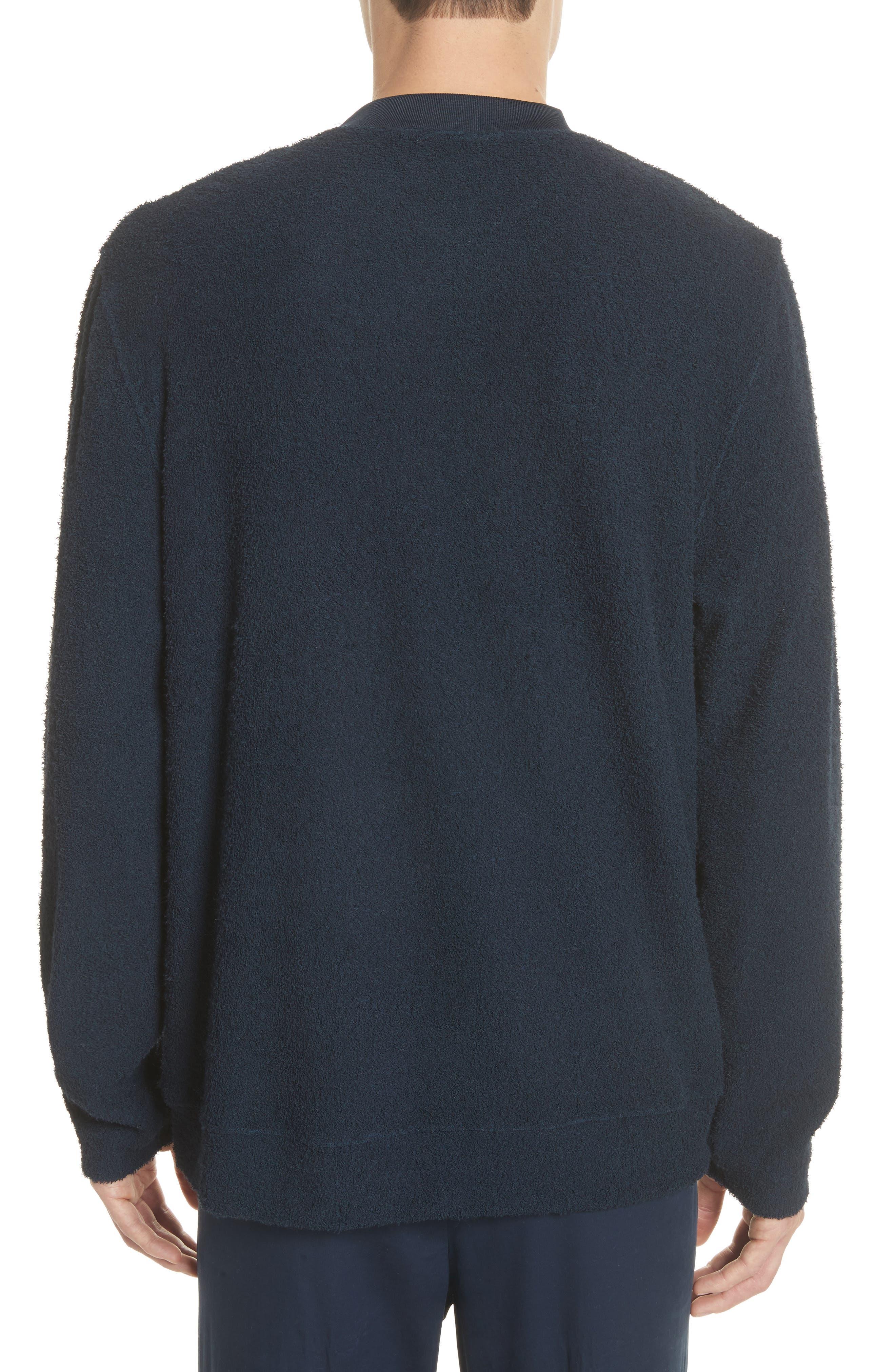 Rask Crewneck Sweatshirt,                             Alternate thumbnail 2, color,                             Dark Navy