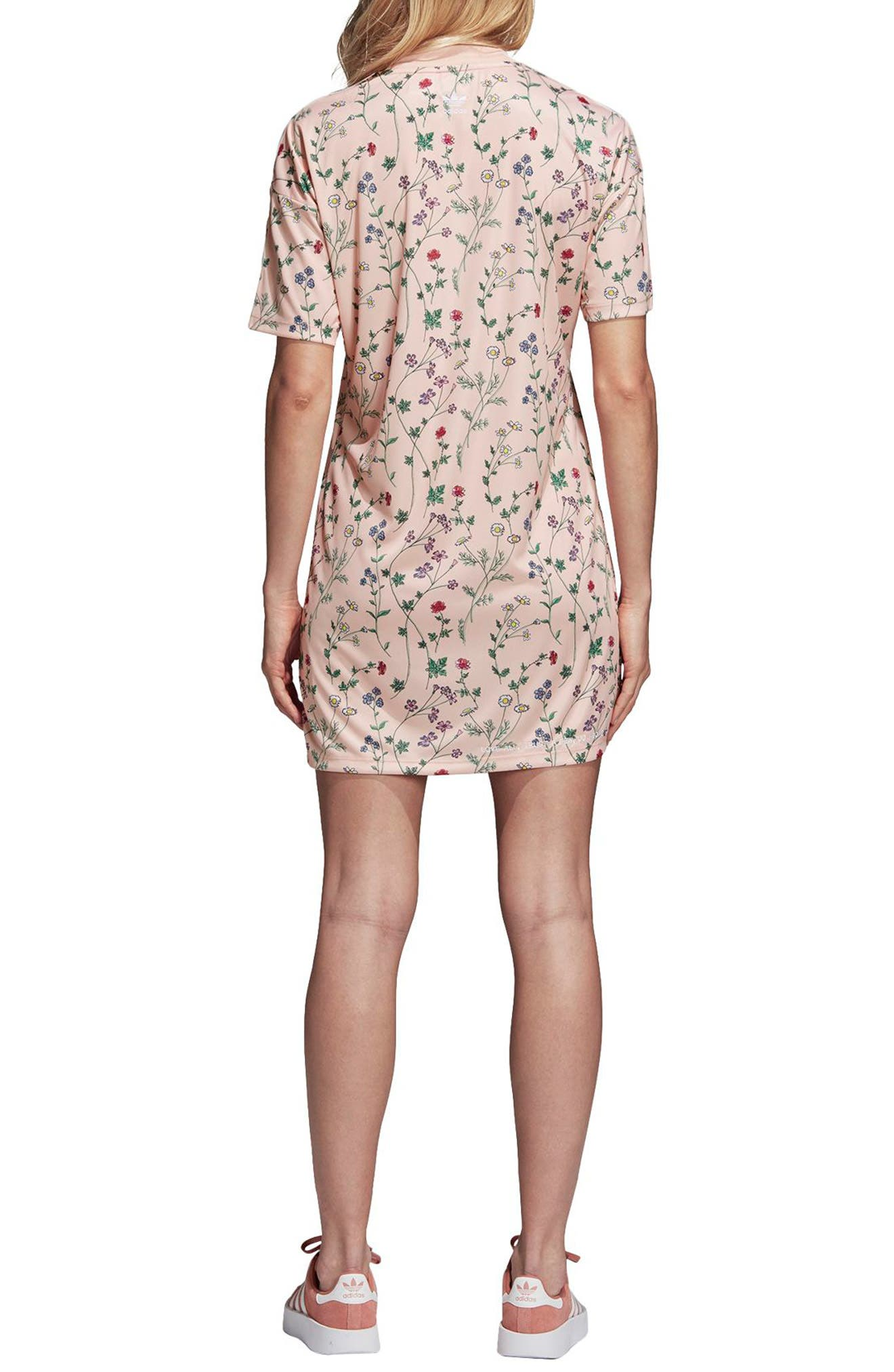 Originals Floral Graphic Dress,                             Alternate thumbnail 2, color,                             Pink - Flower Aop