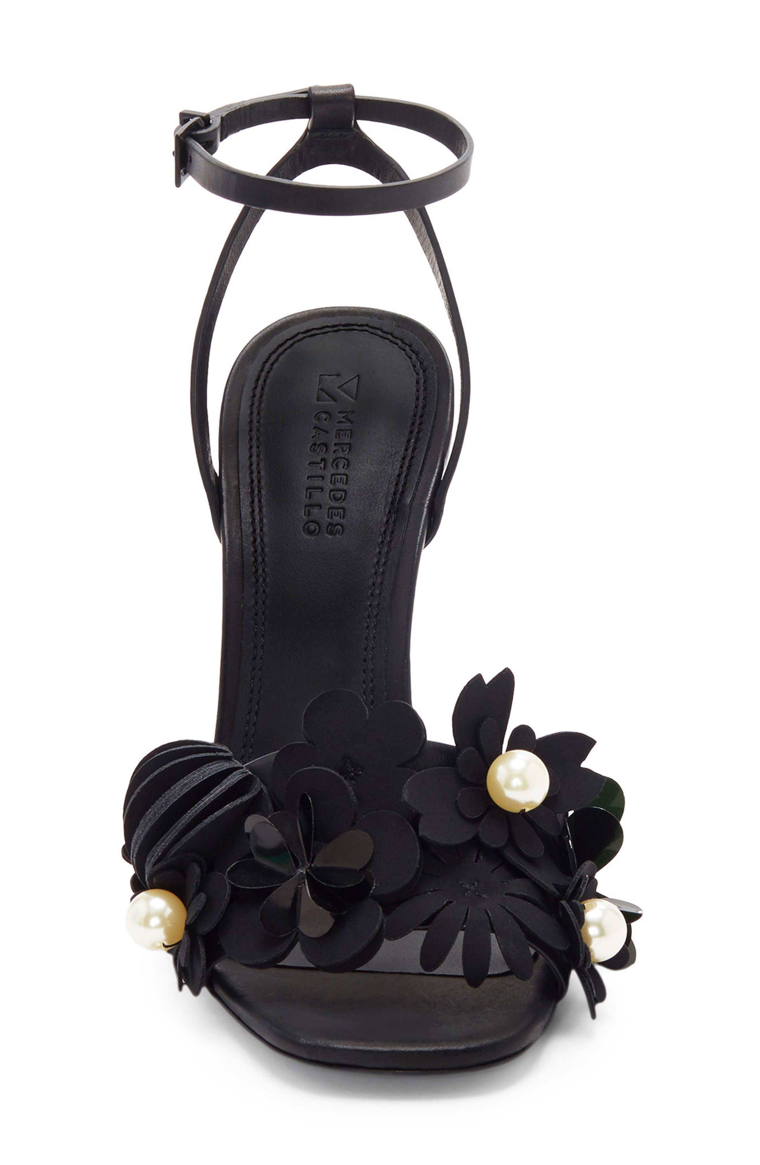 Alternate Image 3  - Mercedes Castillo Bellisa Embellished Ankle Strap Sandal (Women)