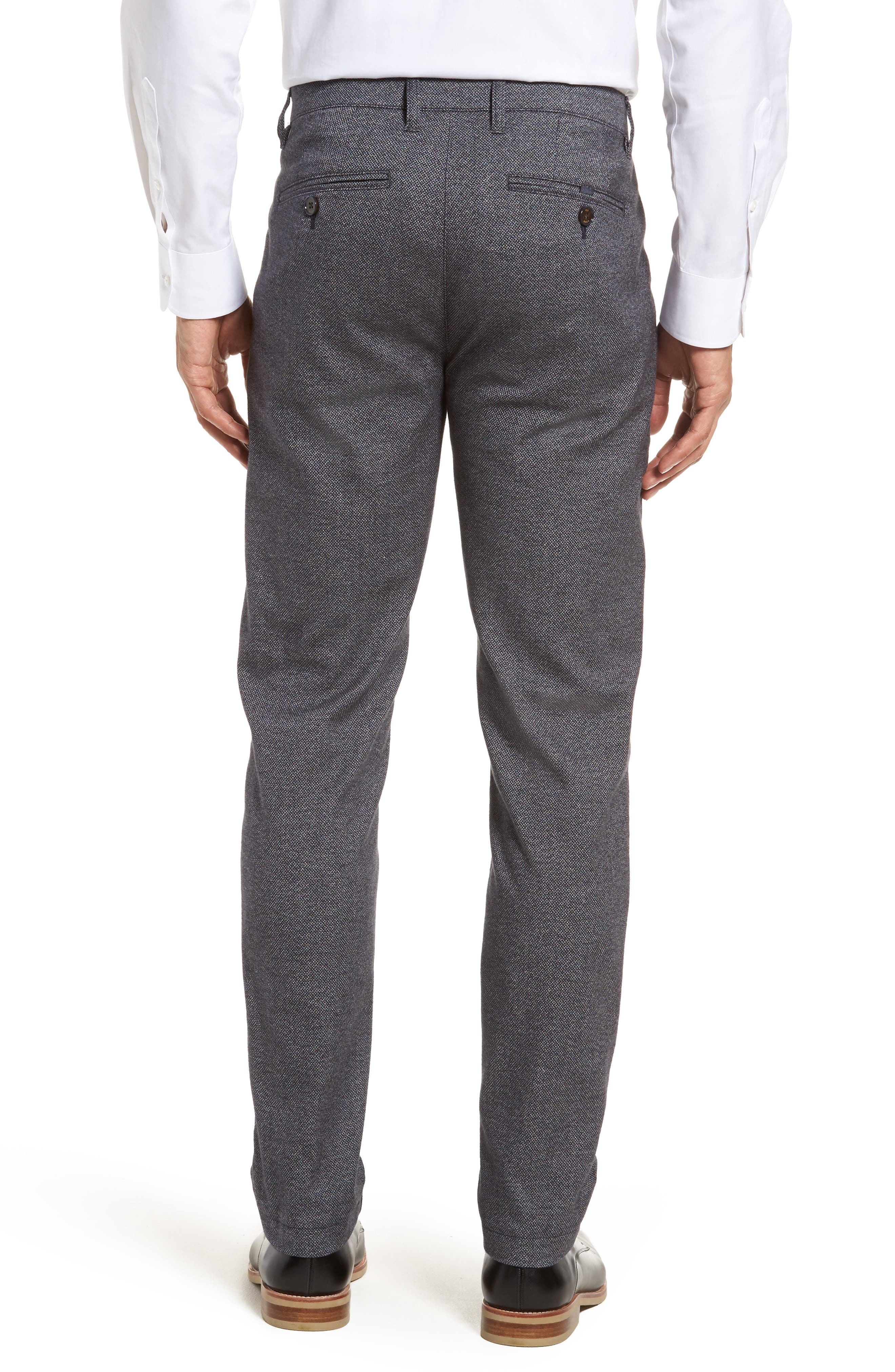 Pintz Slim Fit Trousers,                             Alternate thumbnail 2, color,                             Navy