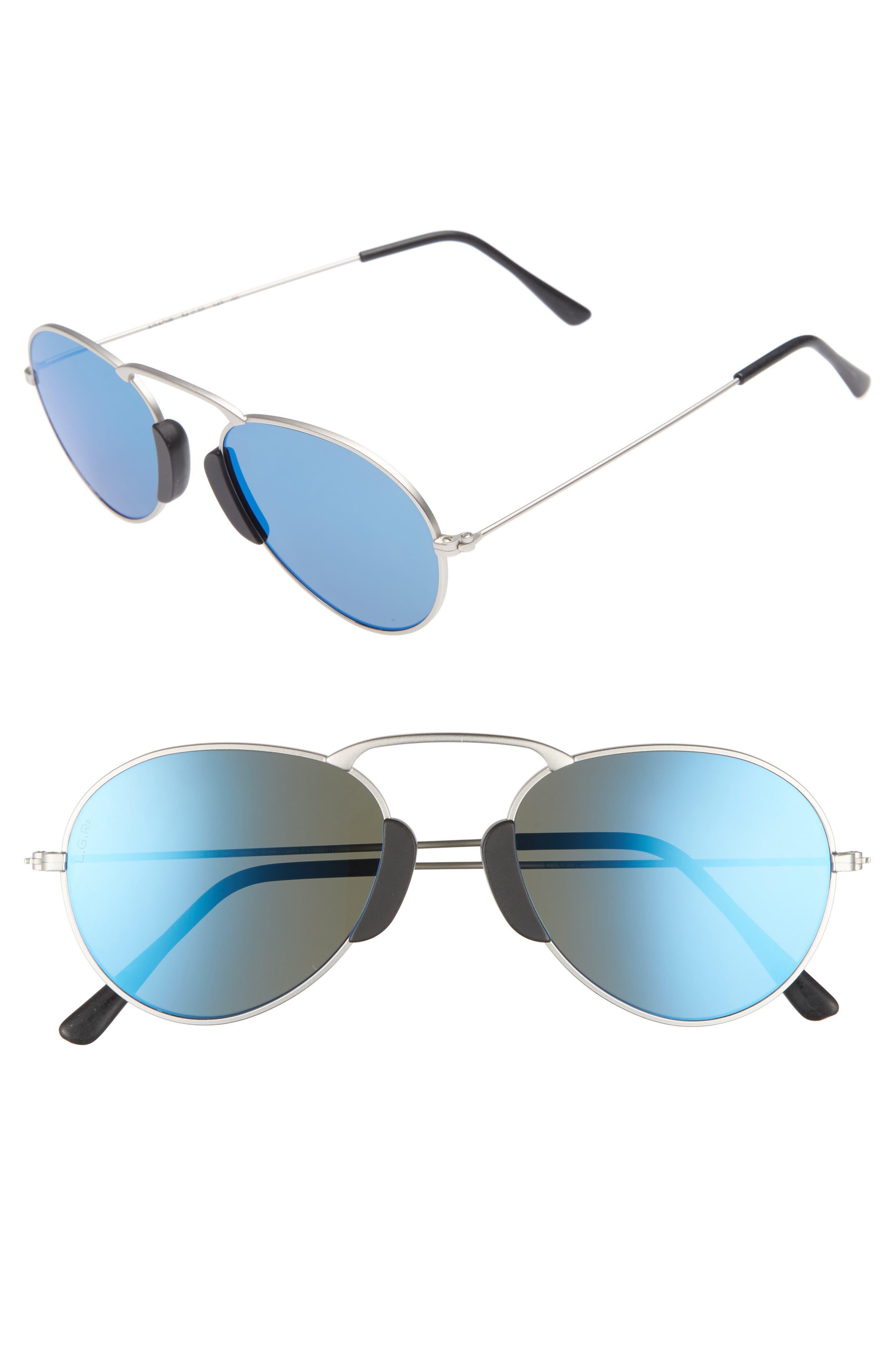 L.G.R. Agadir 54mm Polarized Sunglasses