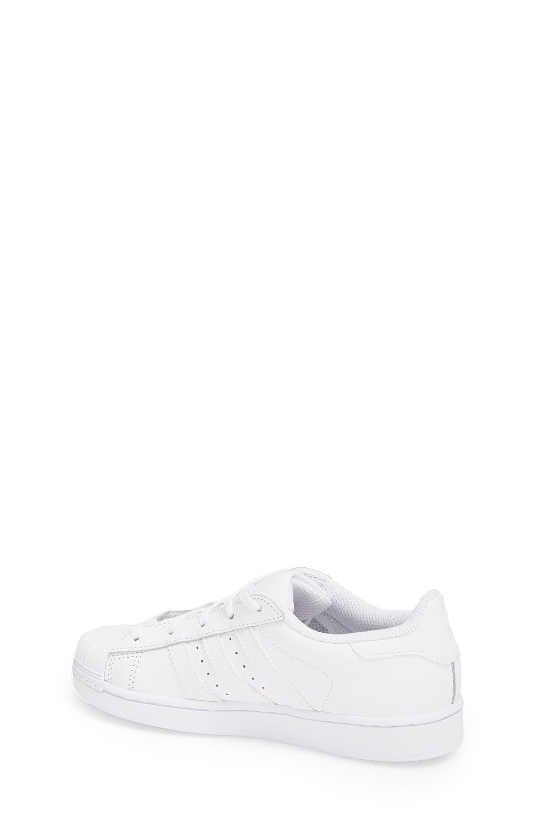 Alternate Image 2  - adidas 'Superstar' Sneaker (Toddler & Little Kid)