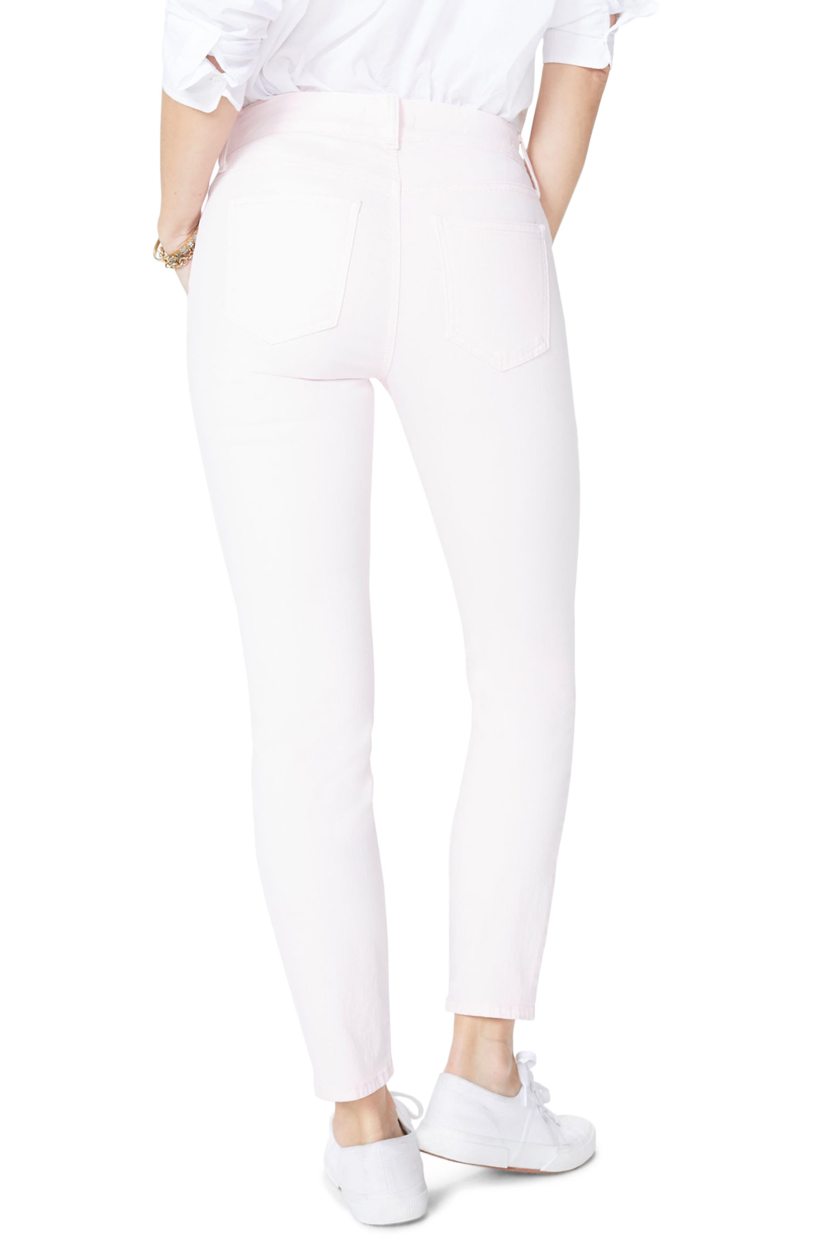 Alternate Image 2  - NYDJ Alina Ankle Jeans (Light Primrose)