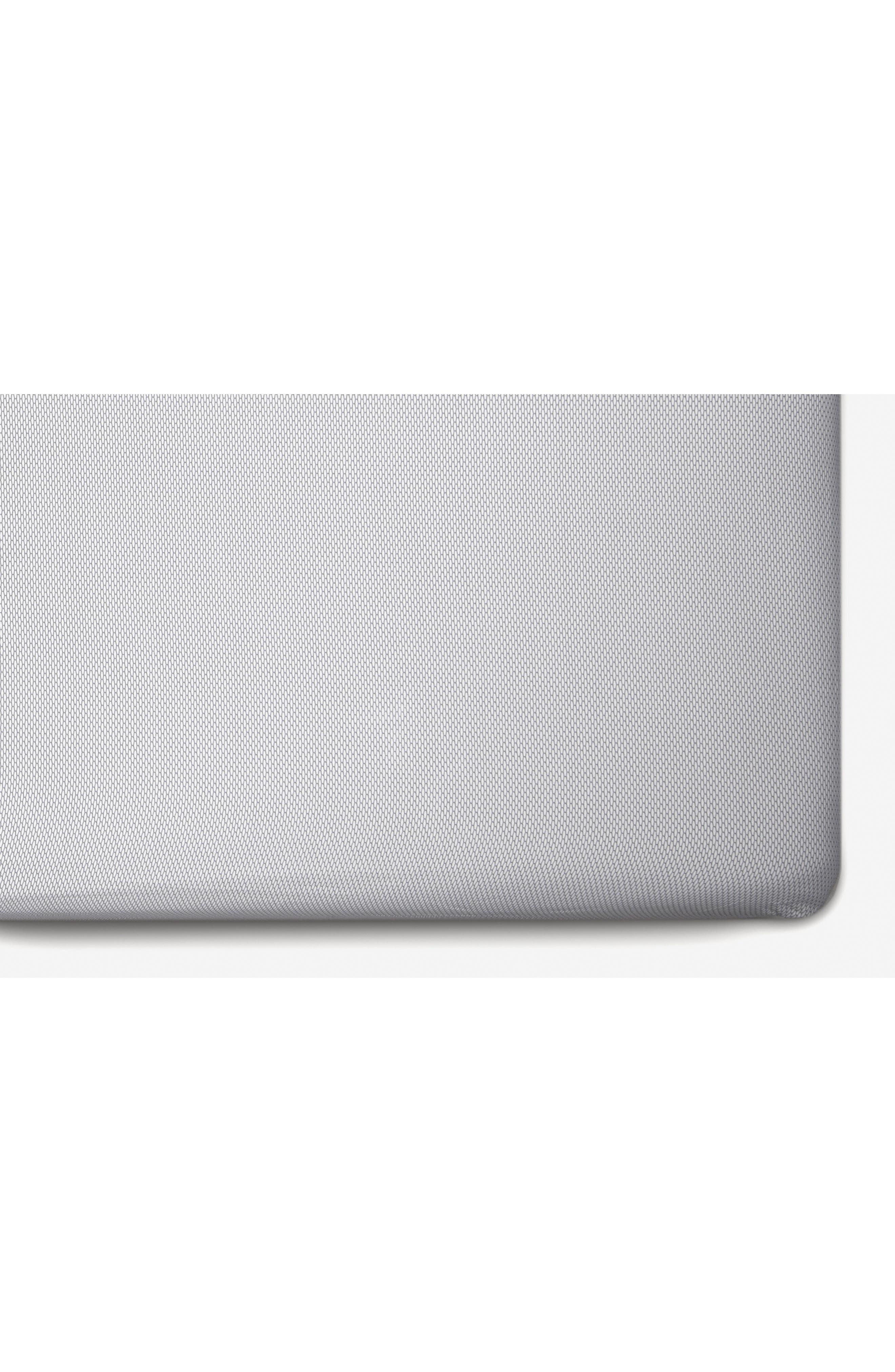 Black/White Mosi 2-Pack Jersey Crib Sheets,                             Alternate thumbnail 2, color,                             Black And White