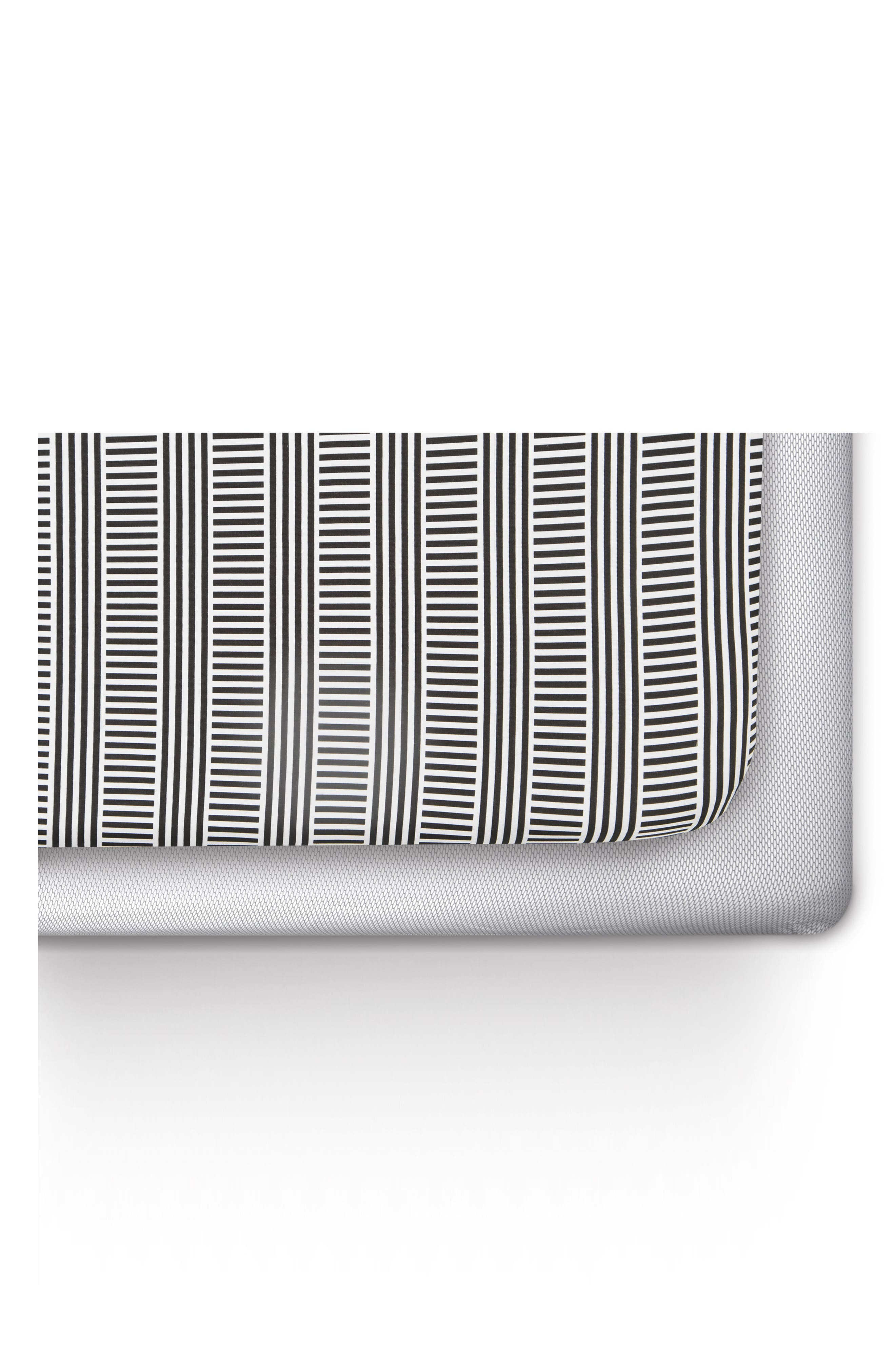 Black/White Mosi 2-Pack Jersey Crib Sheets,                             Main thumbnail 1, color,                             Black And White