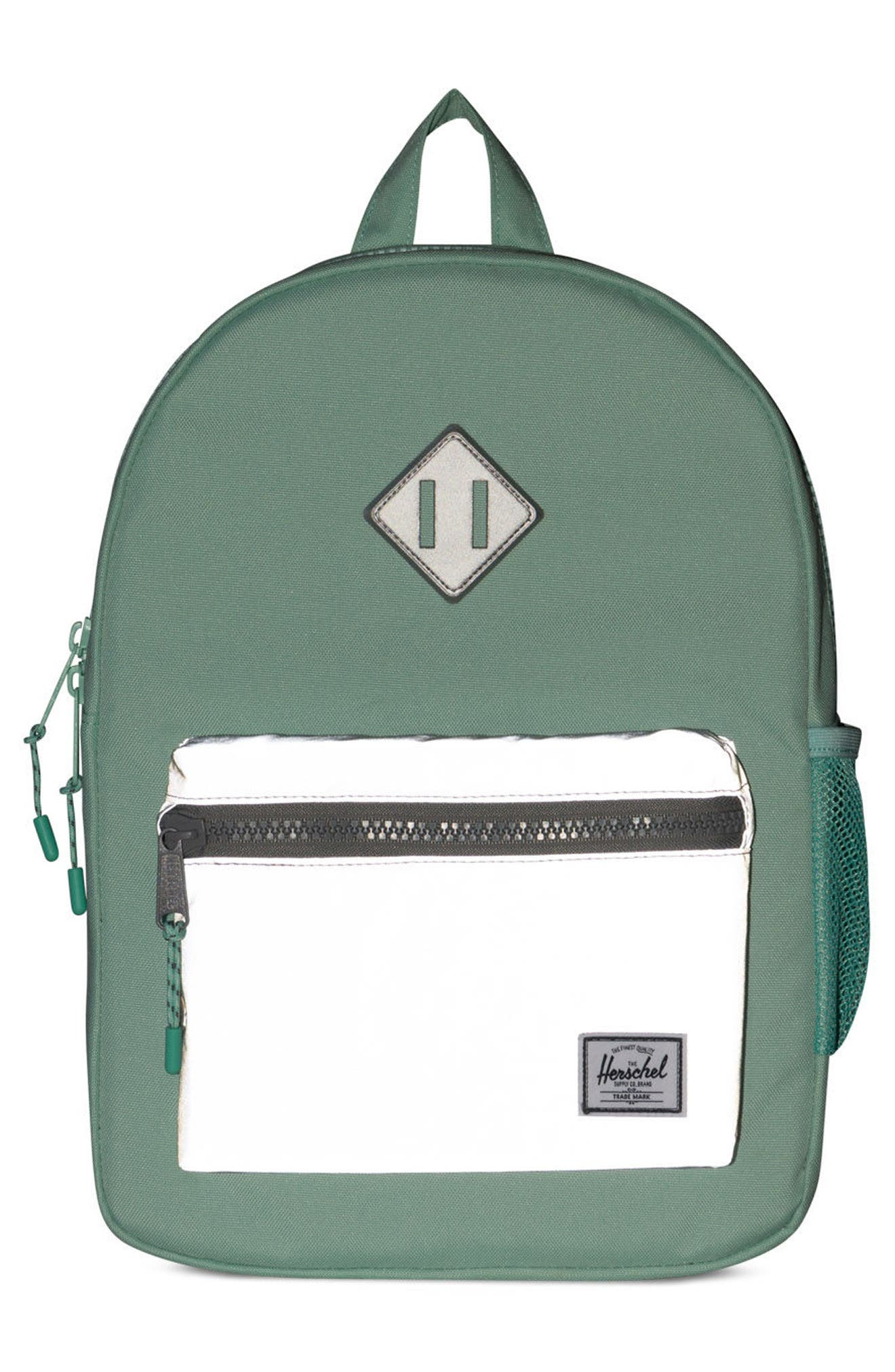 Heritage Backpack,                             Alternate thumbnail 4, color,                             Yucca/ Reflective Rubber