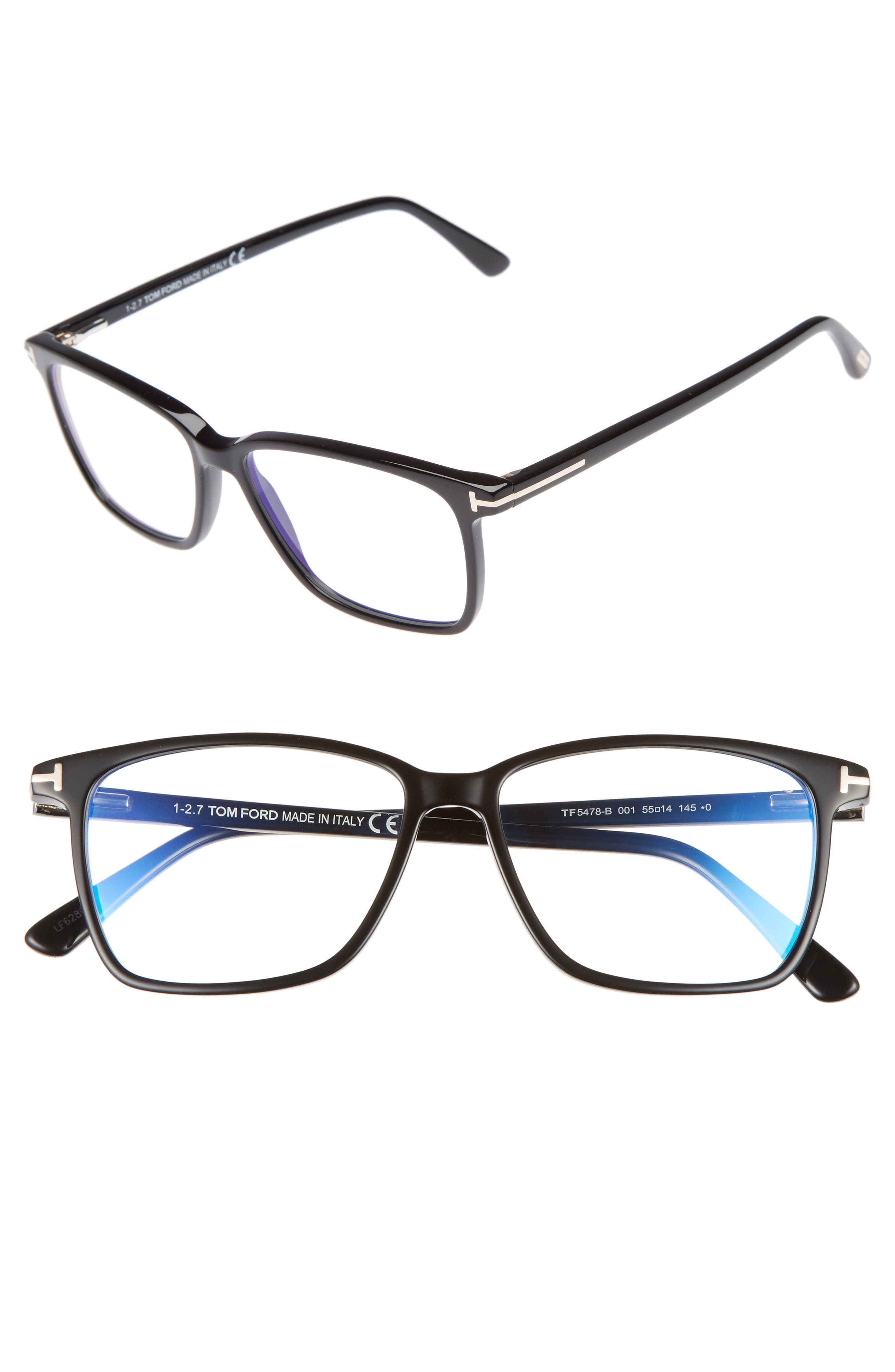 Tom Ford 55mm Optical Glasses