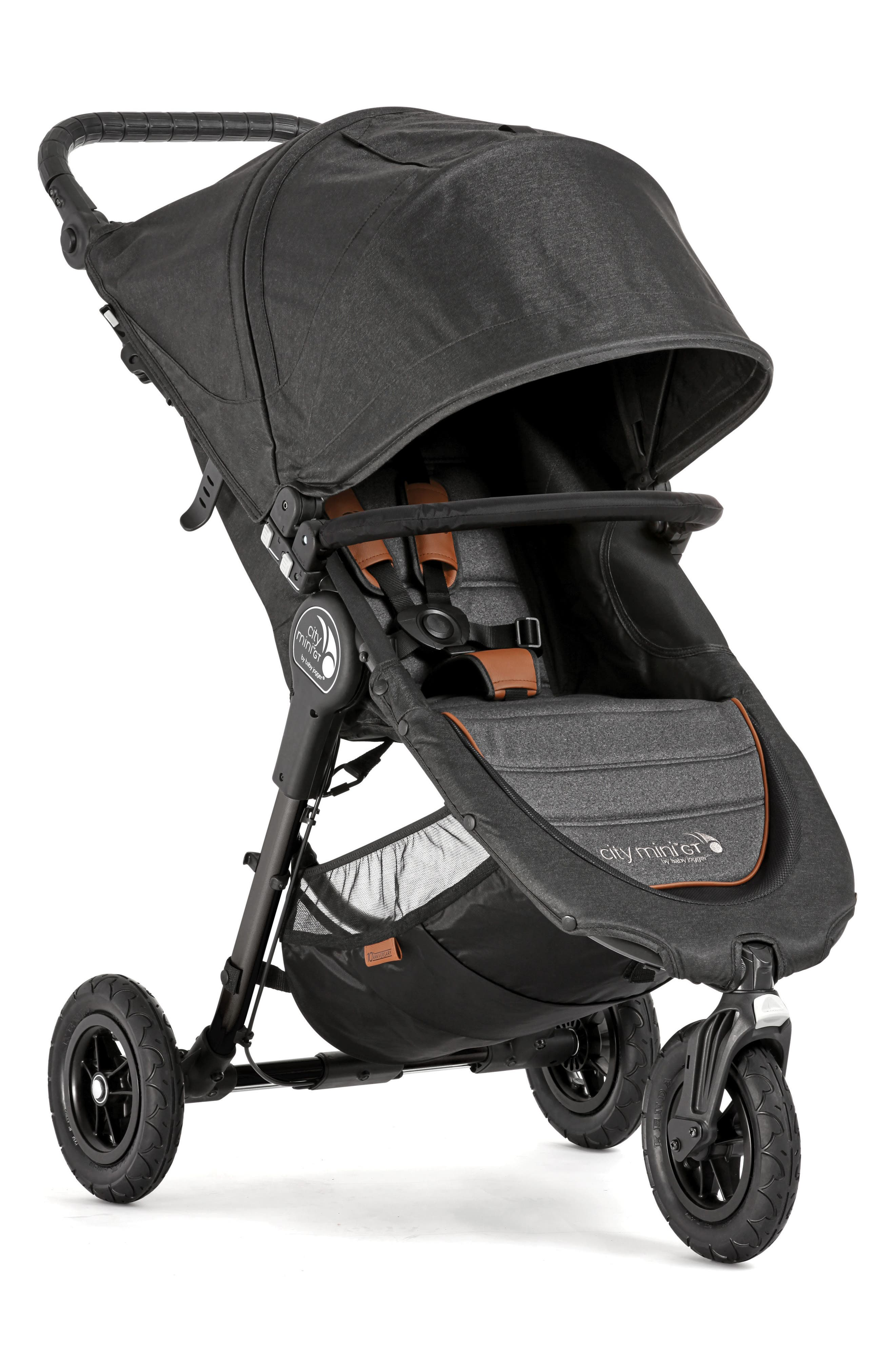 City Mini<sup>®</sup> GT 2018 Special Edition 10-Year Anniversary All-Terrain Stroller,                             Alternate thumbnail 4, color,                             Grey