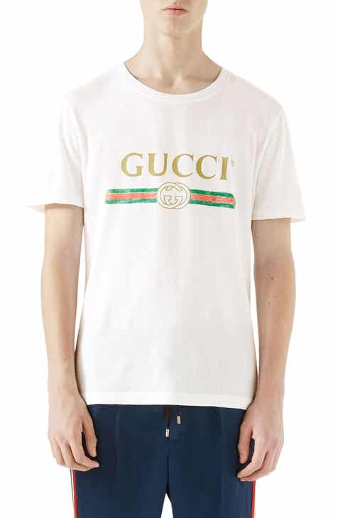 Gucci Logo Graphic T-Shirt a143fd37b2d