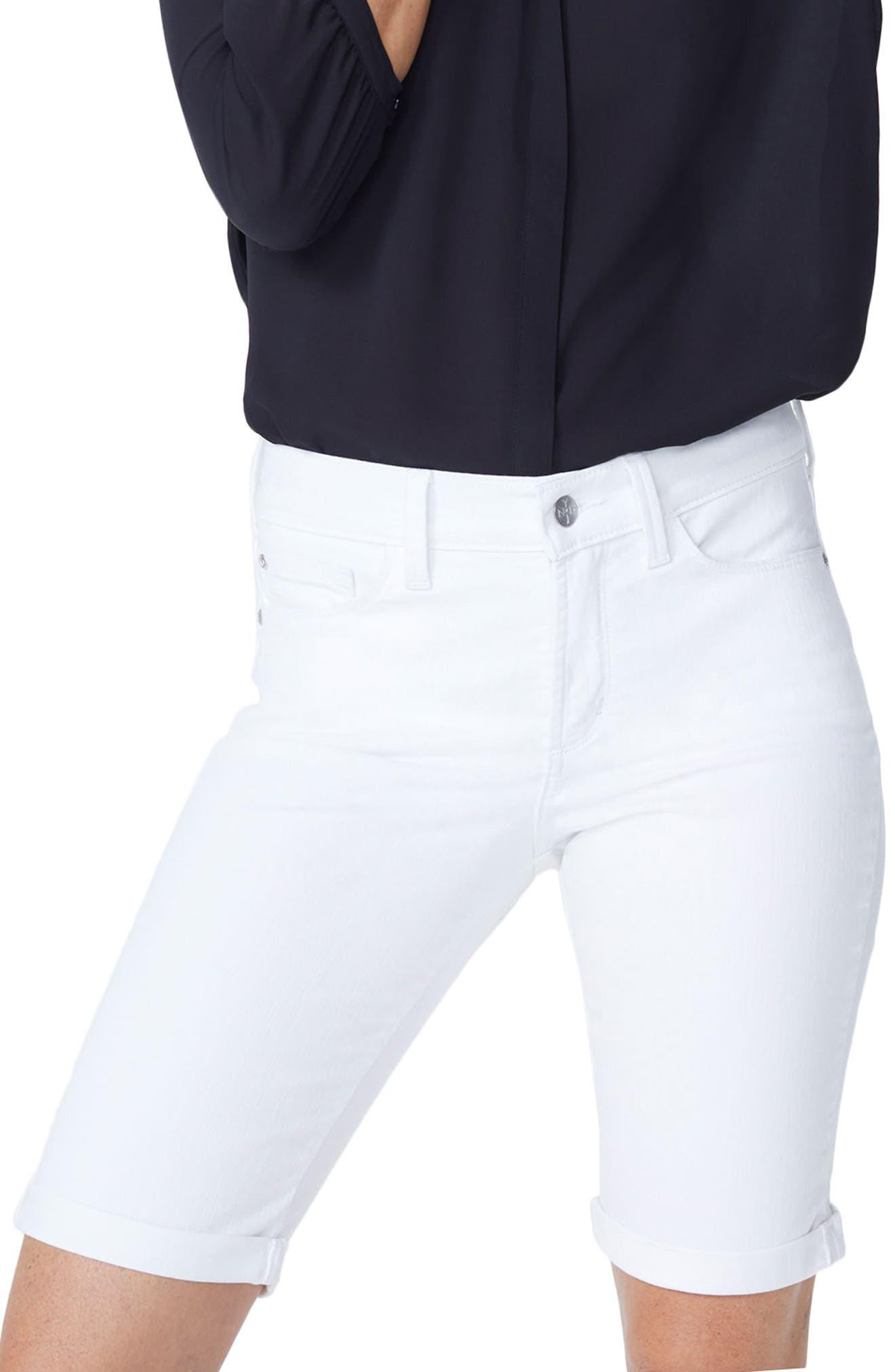 Main Image - NYDJ Briella Roll Cuff Bermuda Shorts