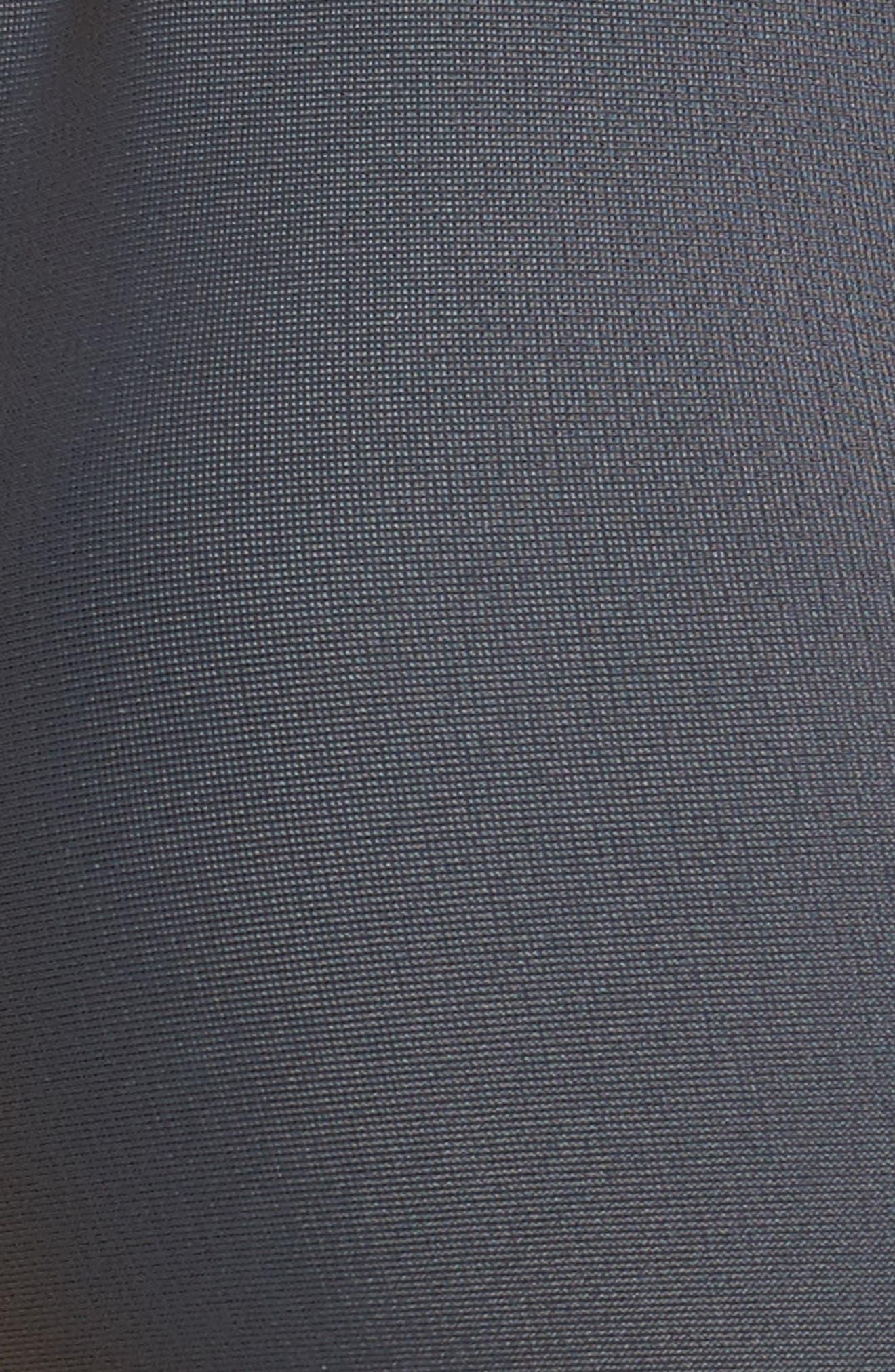 Illusion Fixed Triangle Bikini Top,                             Alternate thumbnail 4, color,                             Dark Grey
