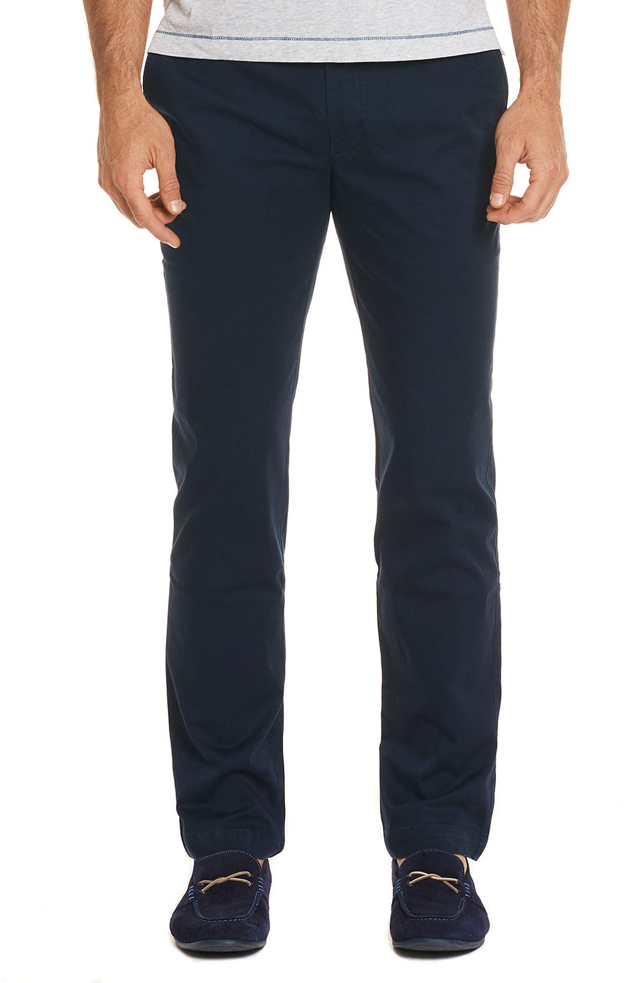 Burton Tailored Fit Pants,                             Main thumbnail 1, color,                             Navy