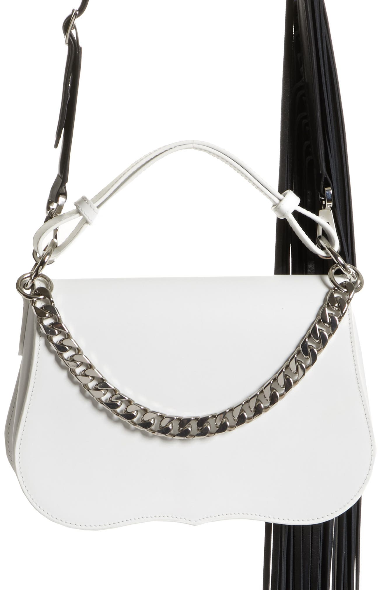 Calvin Klein 205W39NYC Small Leather Shoulder Bag