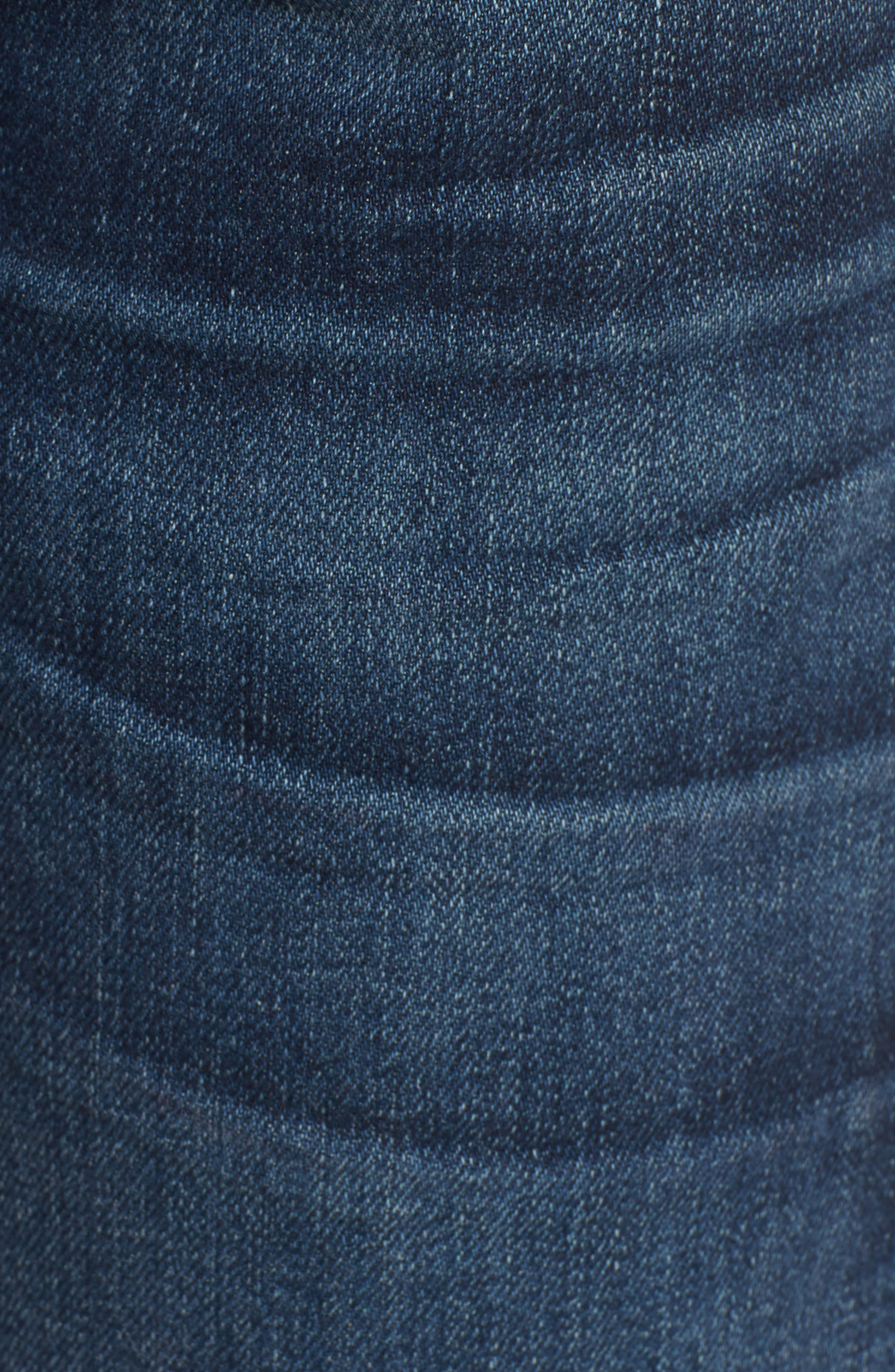 Emerson Slim Boyfriend Jeans,                             Alternate thumbnail 4, color,                             New Moon