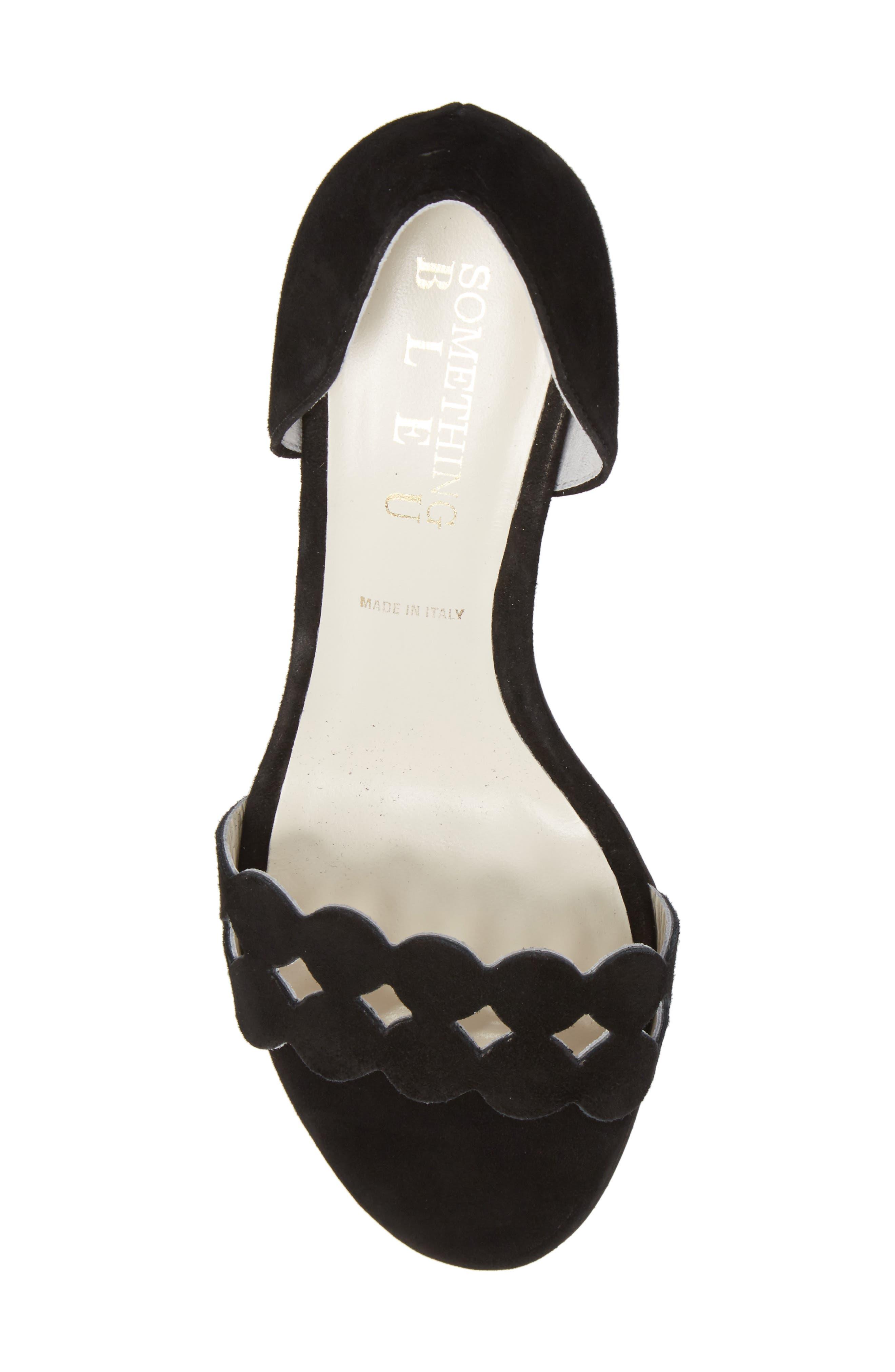 Alternate Image 5  - Something Bleu Catherine Cutout Sandal (Women)