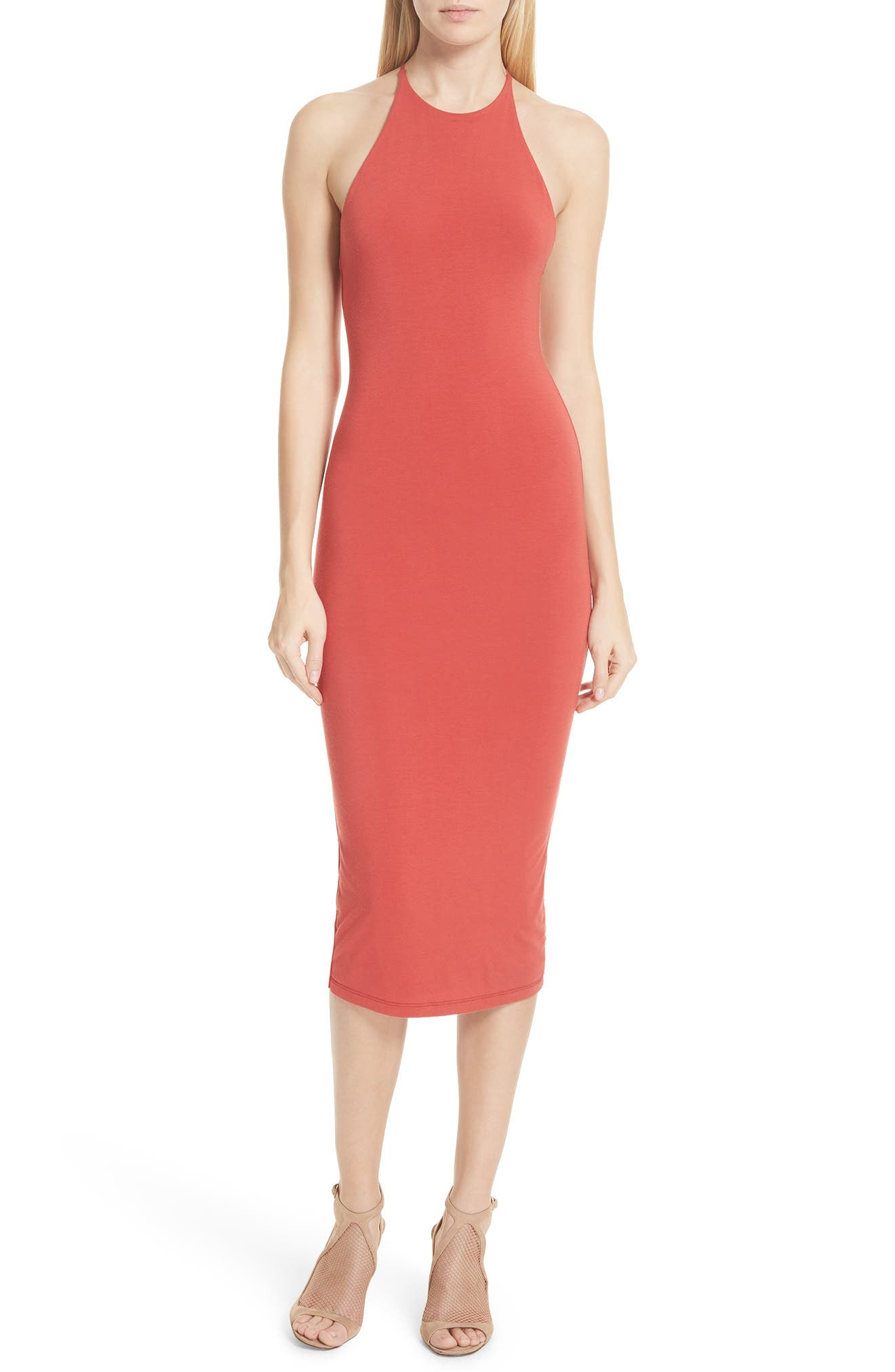 T by Alexander Wang T-Back Body-Con Dress