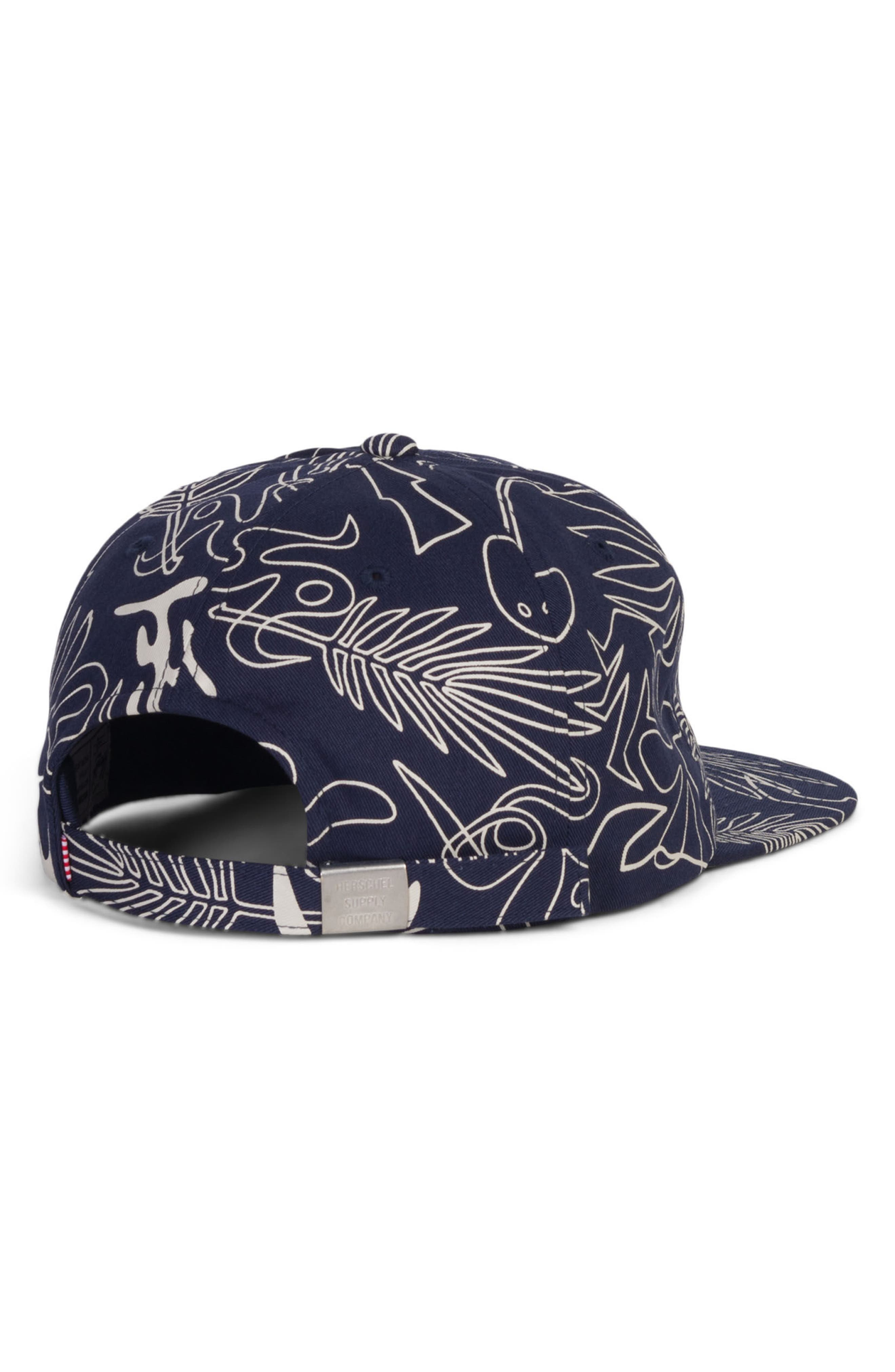Albert Baseball Cap,                             Alternate thumbnail 2, color,                             Abstract Island