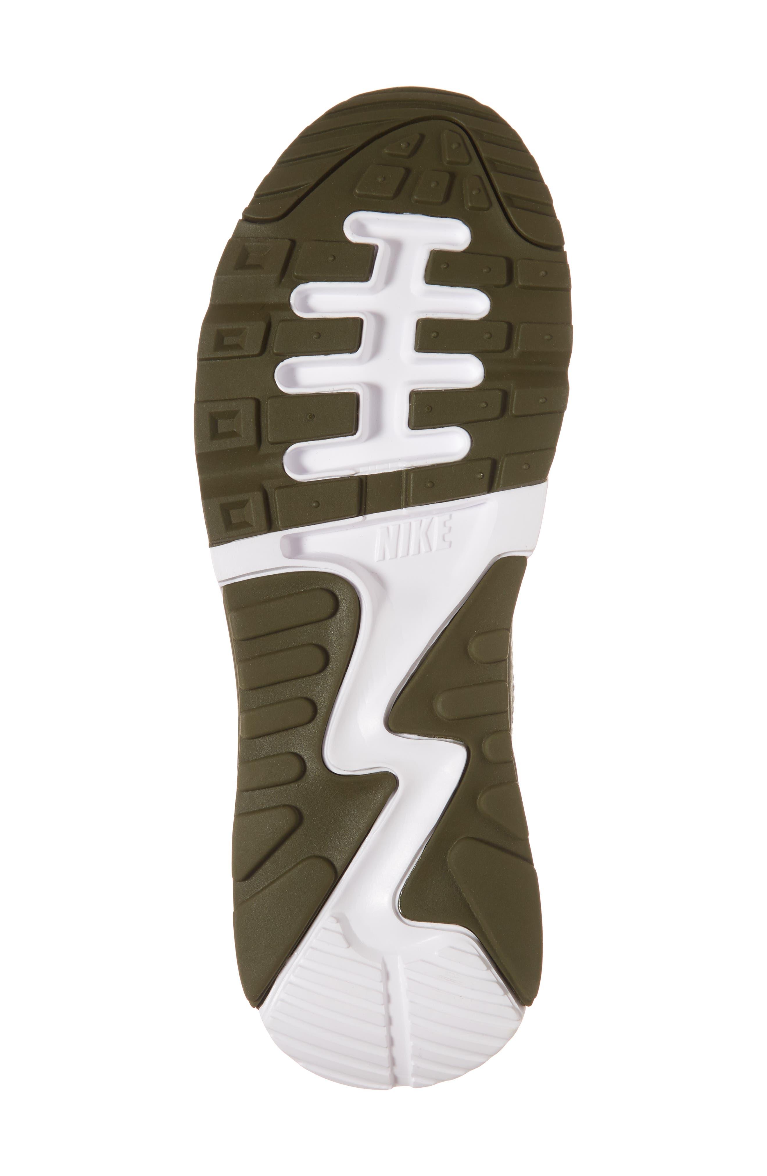 Air Max 90 Flyknit Ultra 2.0 Sneaker,                             Alternate thumbnail 6, color,                             Cargo Khaki/ Neutral Olive