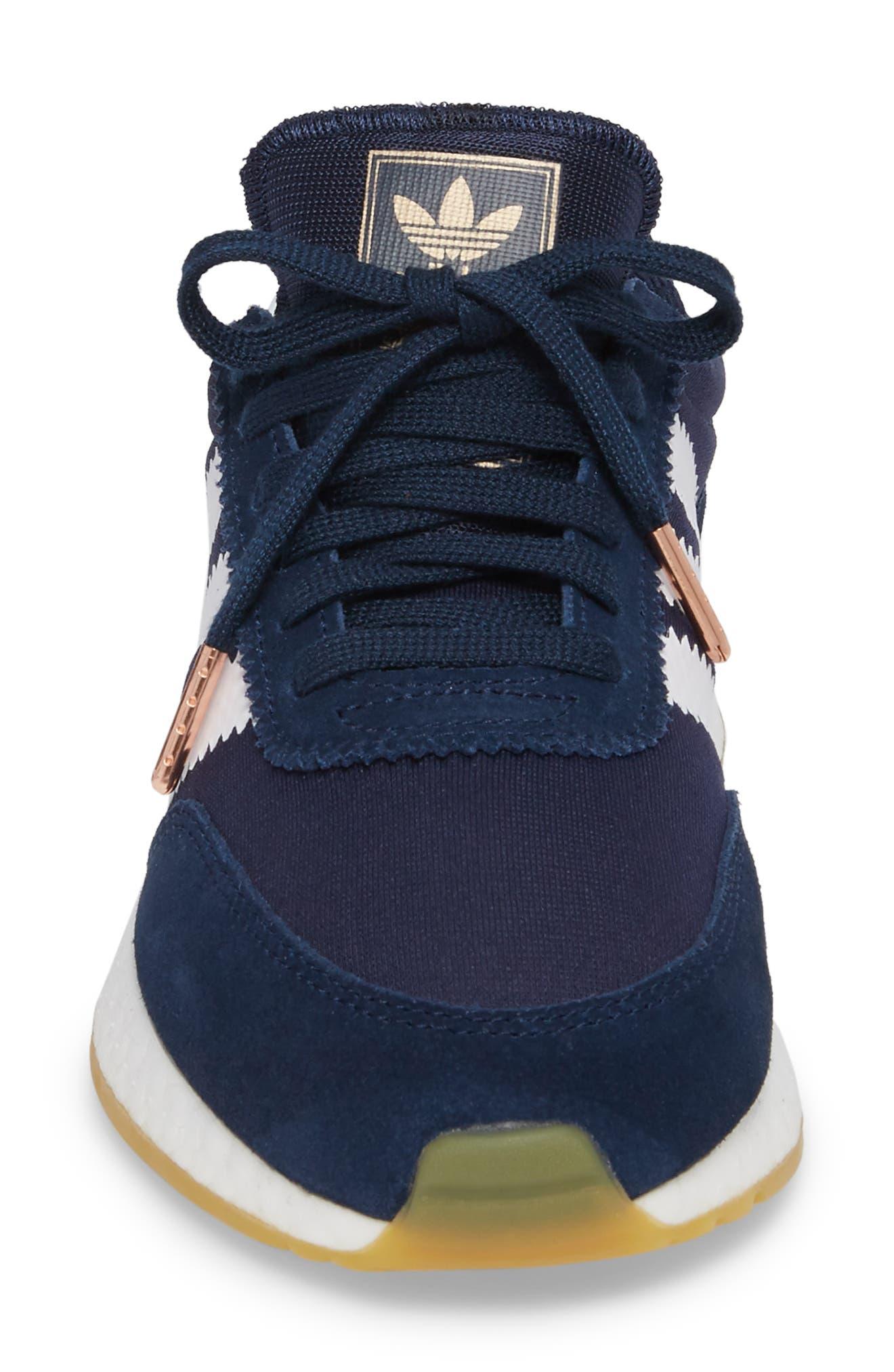 I-5923 Sneaker,                             Alternate thumbnail 4, color,                             Navy/ White/ Gum