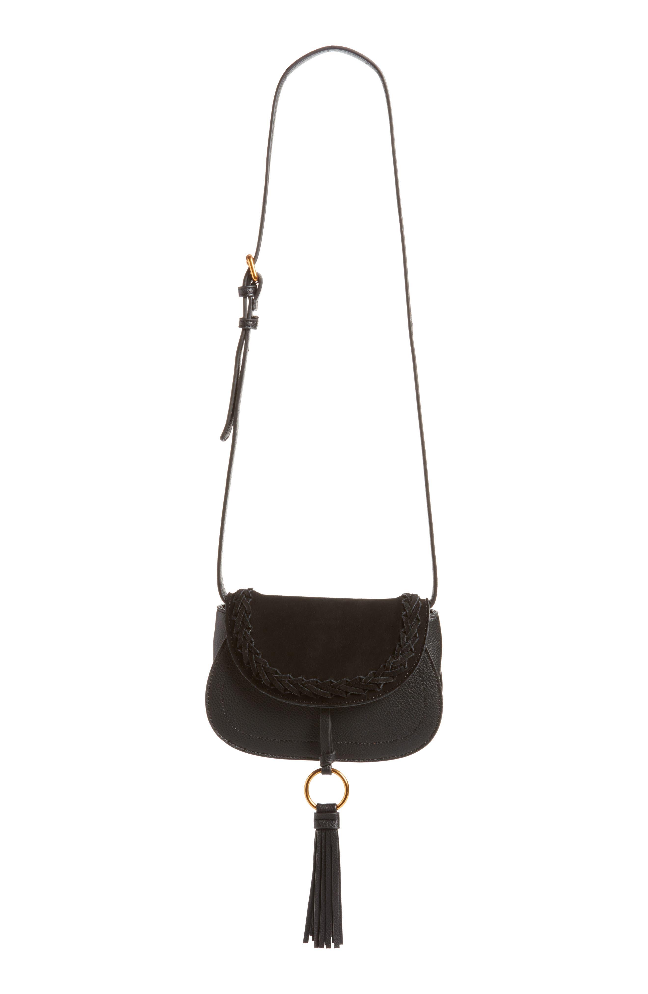 Convertible Crossbody Bag,                         Main,                         color, Black