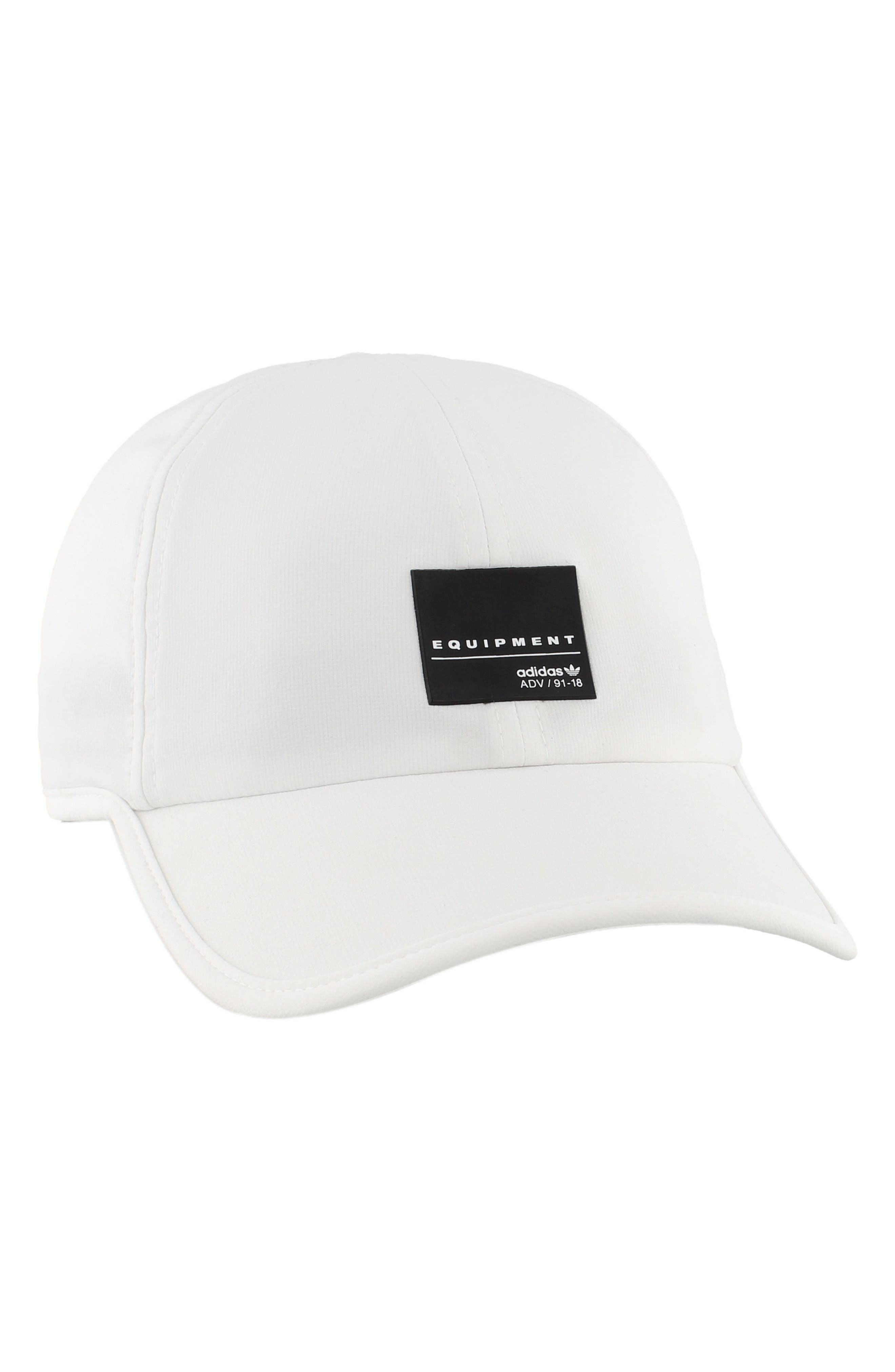 EQT Trainer Cap,                             Alternate thumbnail 6, color,                             White