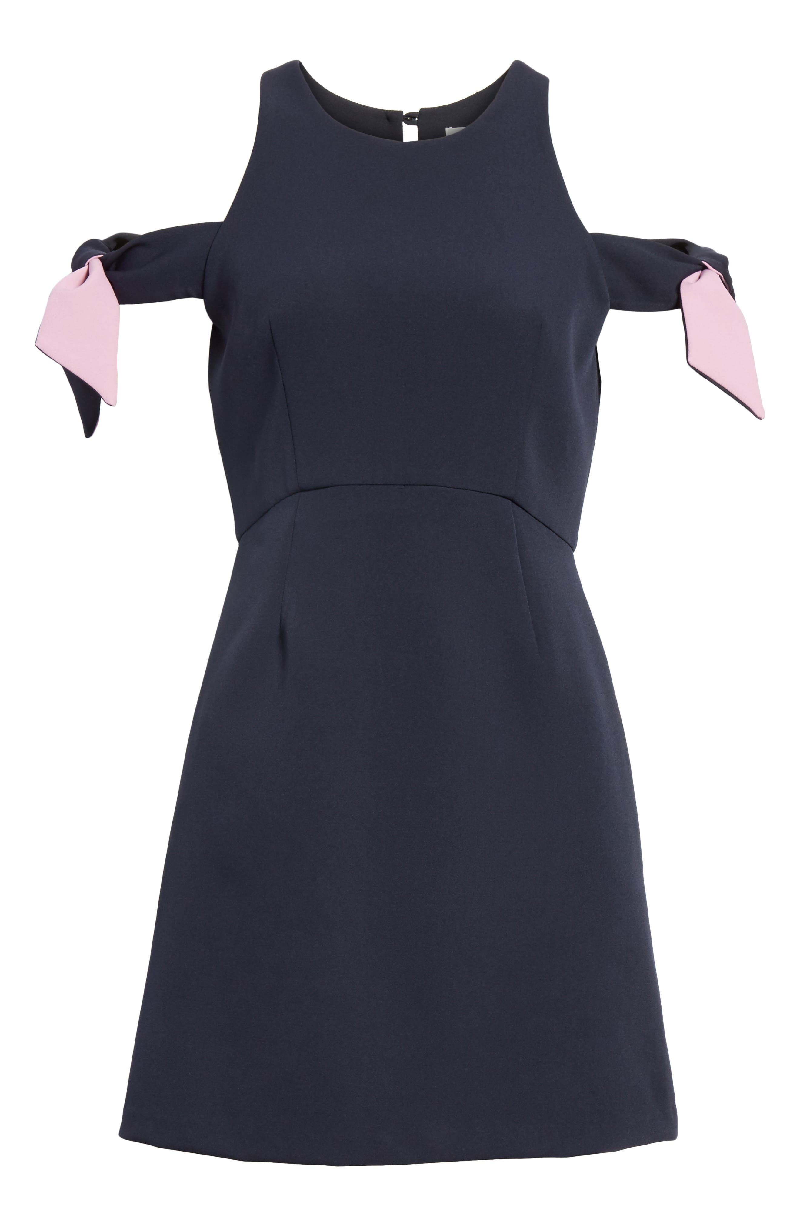 Alternate Image 6  - Milly Madison Cold Shoulder Minidress