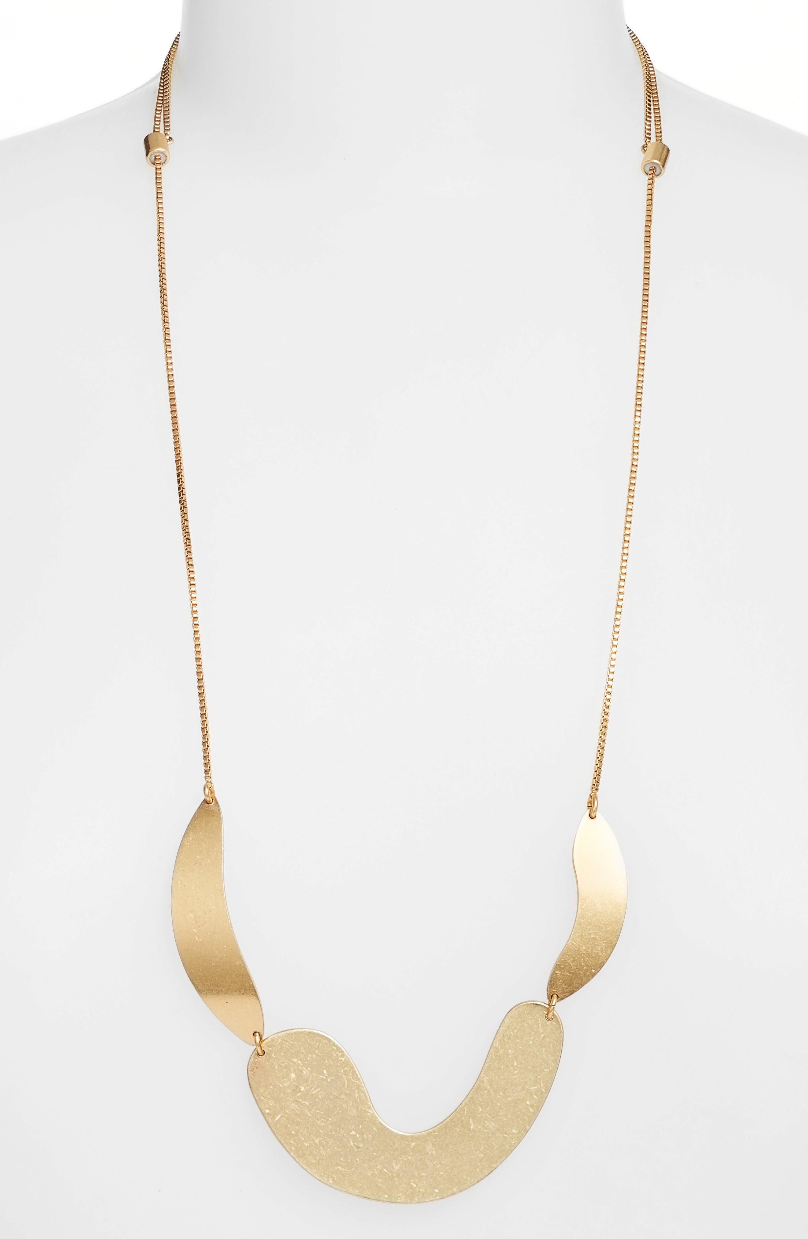 Madewell Fluid Shapes Pendant Necklace