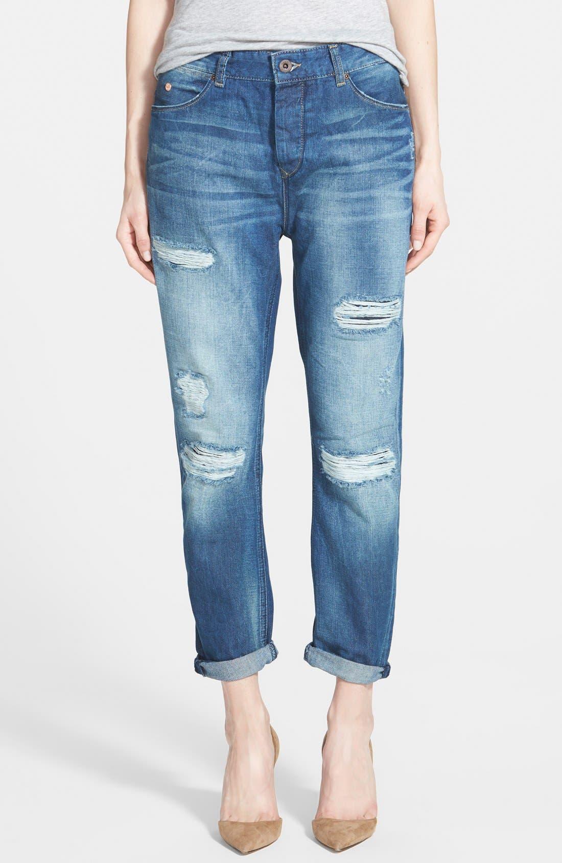LAdorable Ripped Boyfriend Jeans - Denim Maison Scotch High Quality Sale Online Great Deals Sale Online Sale Shopping Online NZPXOn
