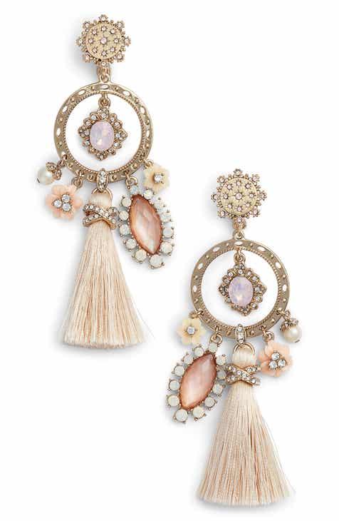 Marchesa Tel Chandelier Earrings