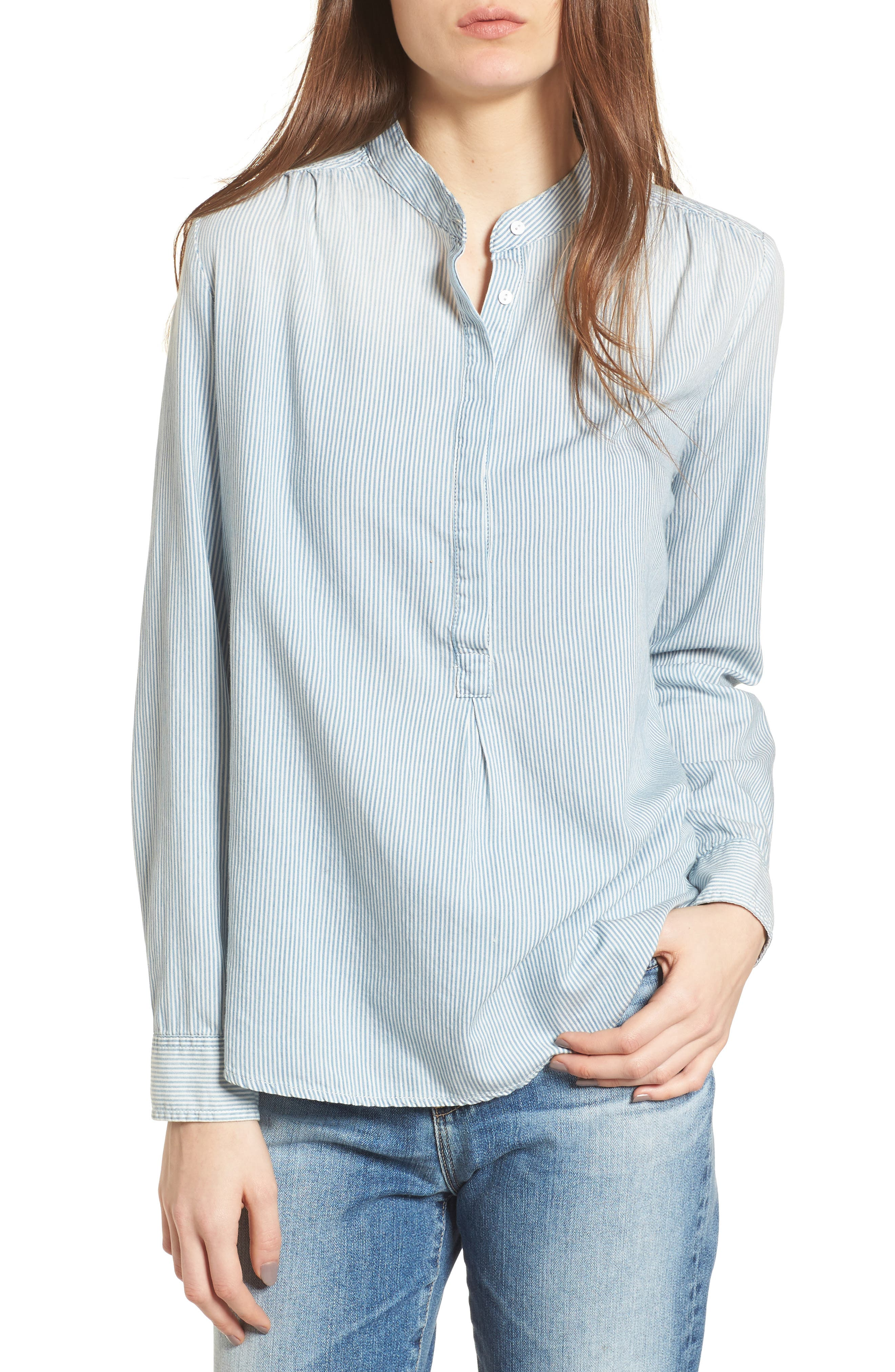 Audryn Shirt,                         Main,                         color, Swell