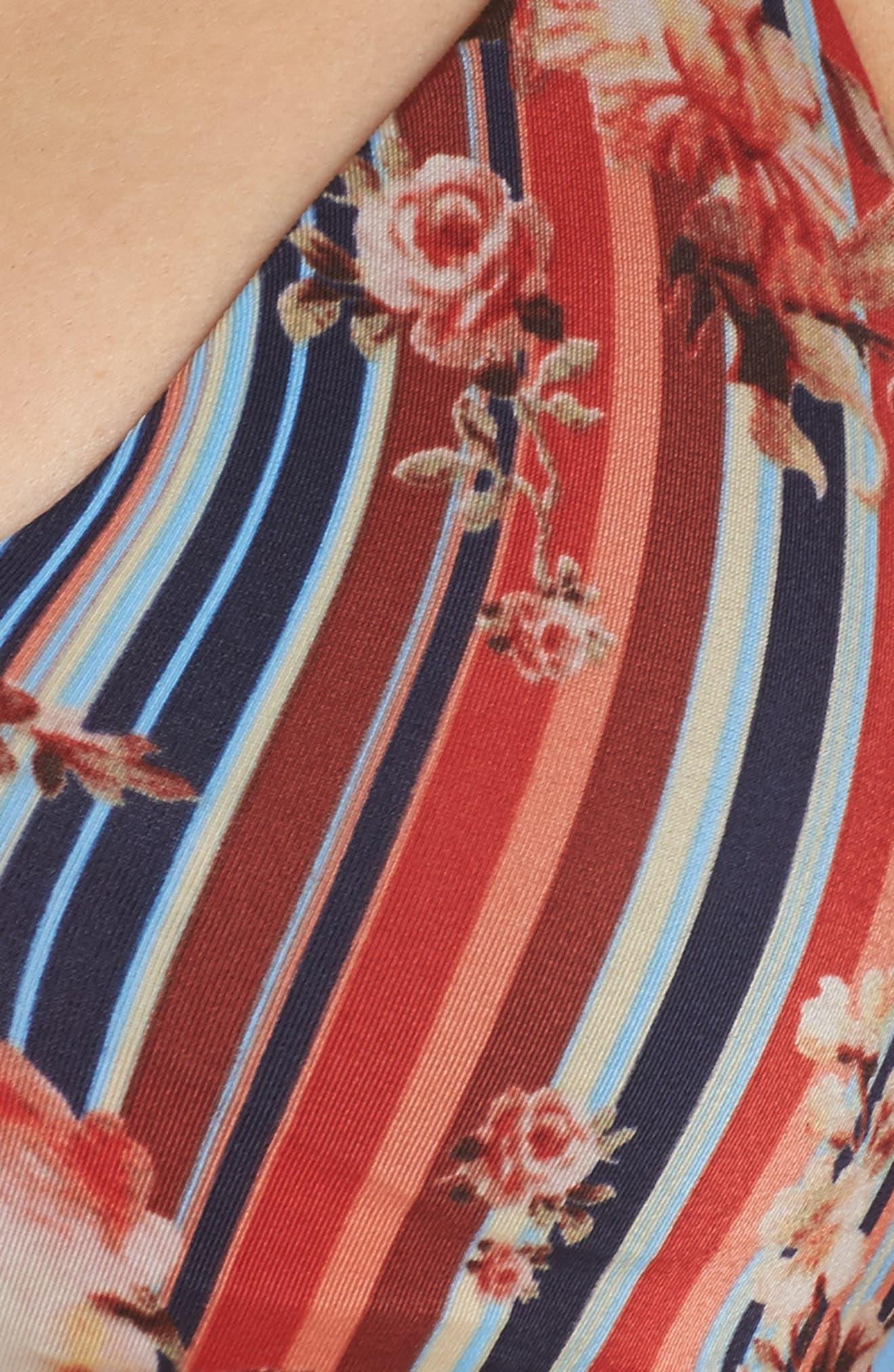 Alternate Image 8  - BCA Love Letters Halter Bikini Top