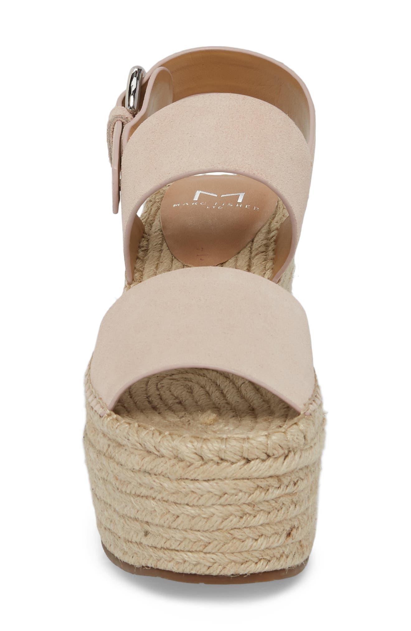 Alternate Image 4  - Marc Fisher LTD Renni Espadrille Platform Wedge Sandal (Women)