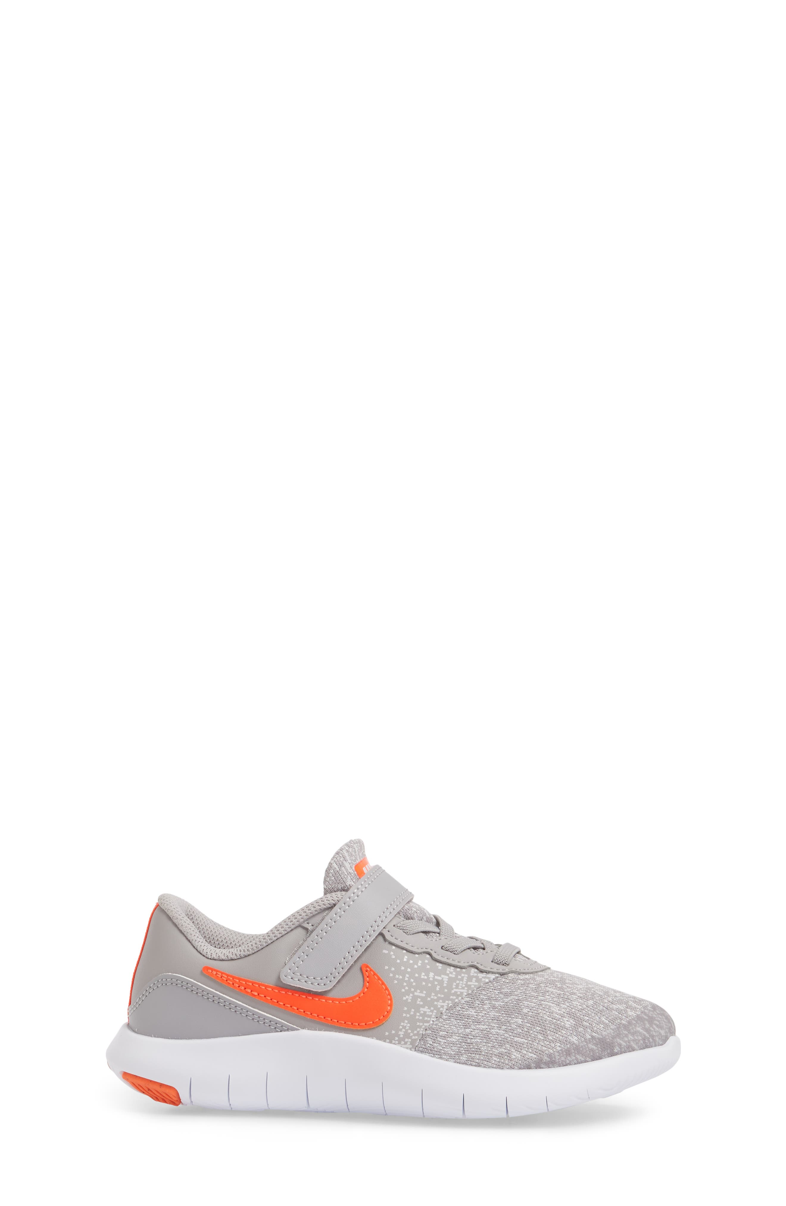 Flex Contact Running Shoe,                             Alternate thumbnail 4, color,                             Atmosphere Grey/ Total Crimson