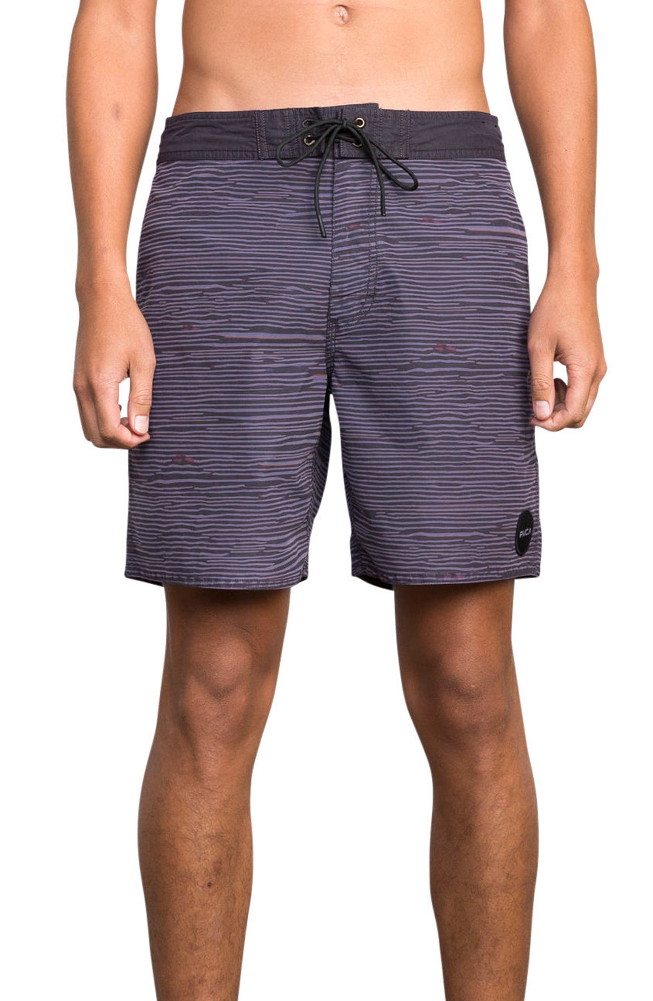 Flinch Board Shorts,                         Main,                         color, Dark Purple
