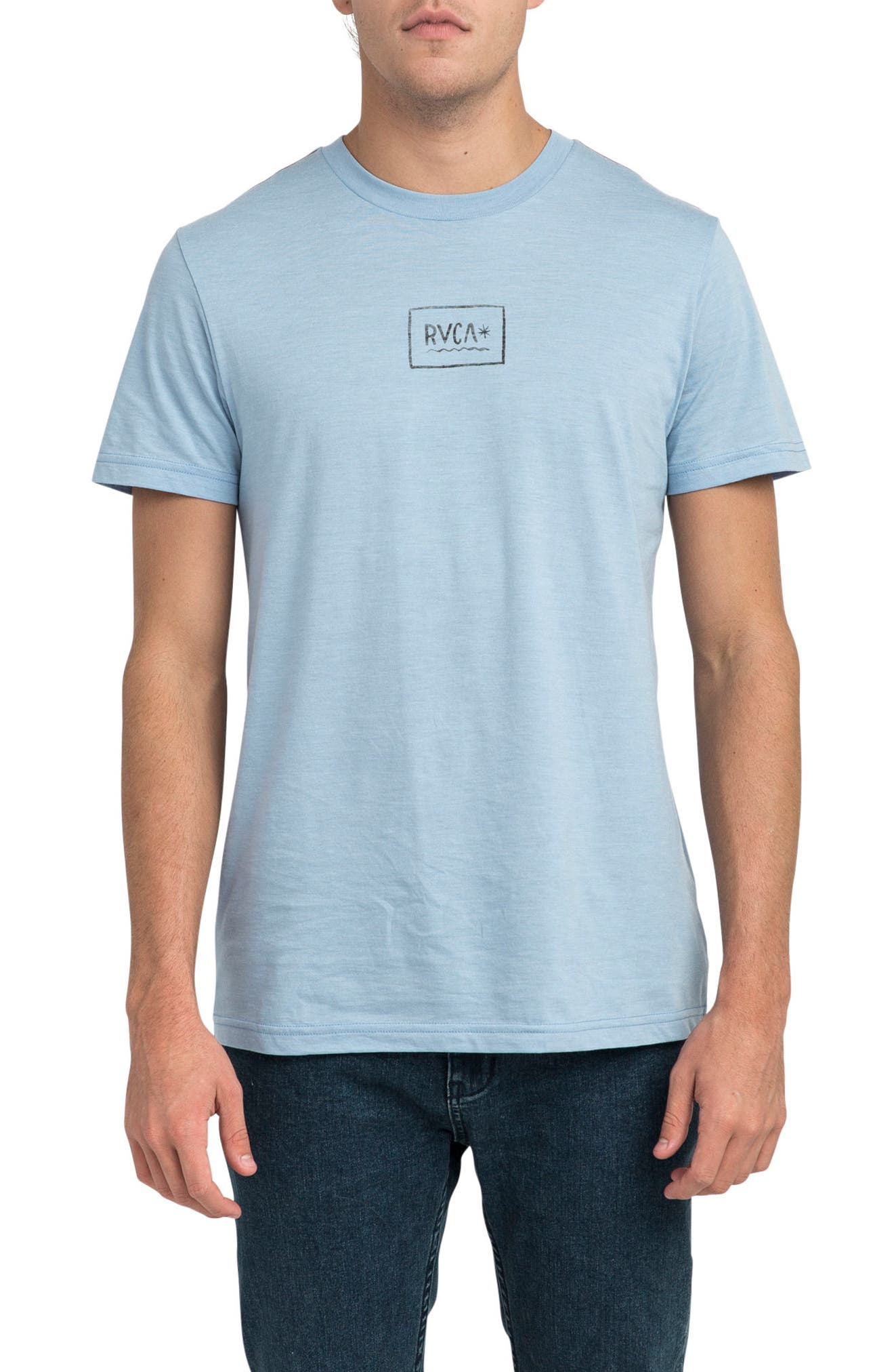 Isthmus Graphic T-Shirt,                             Main thumbnail 1, color,                             Deja Blue
