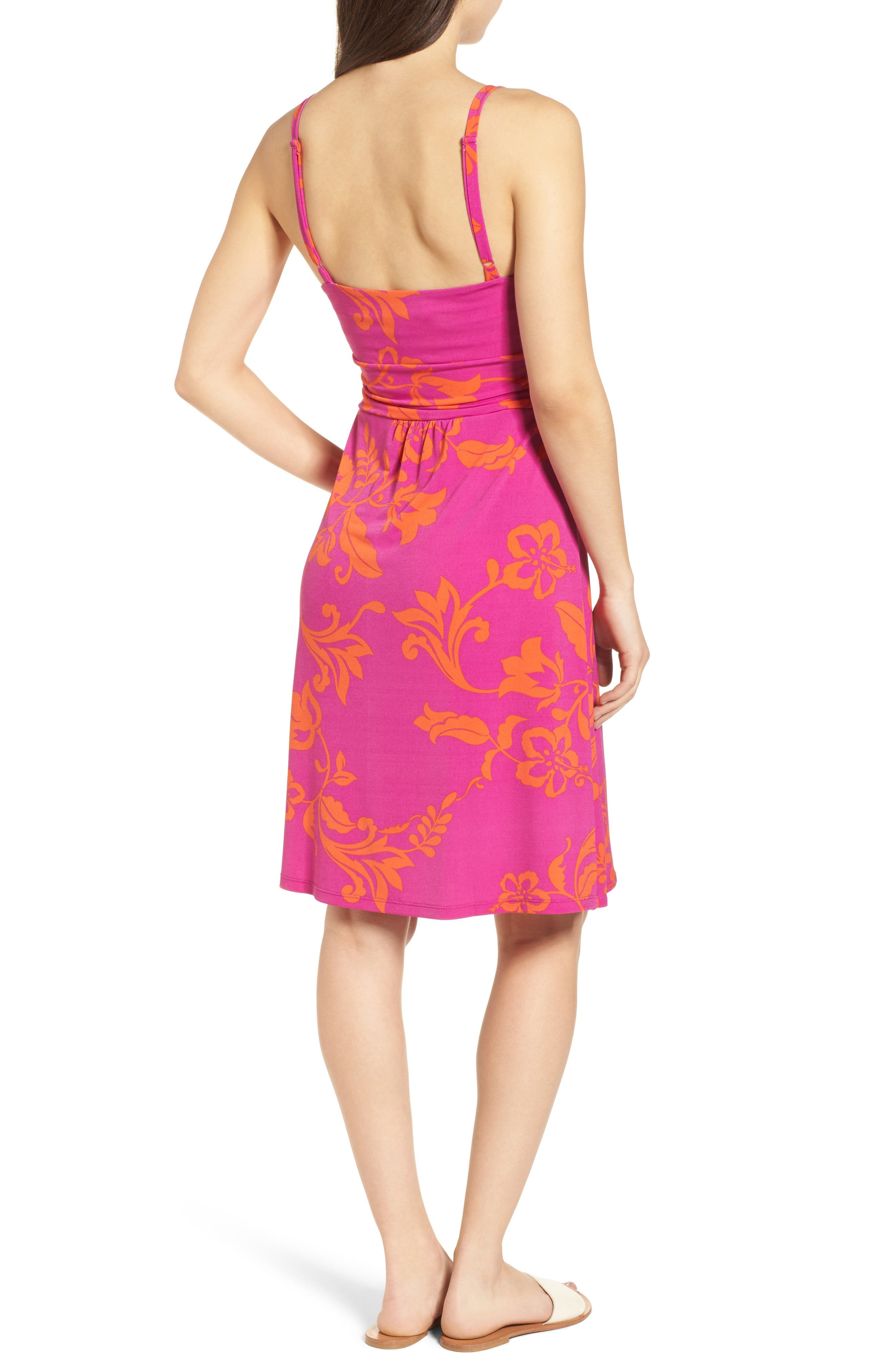 San Lucia Minidress,                             Alternate thumbnail 2, color,                             Festival Pink