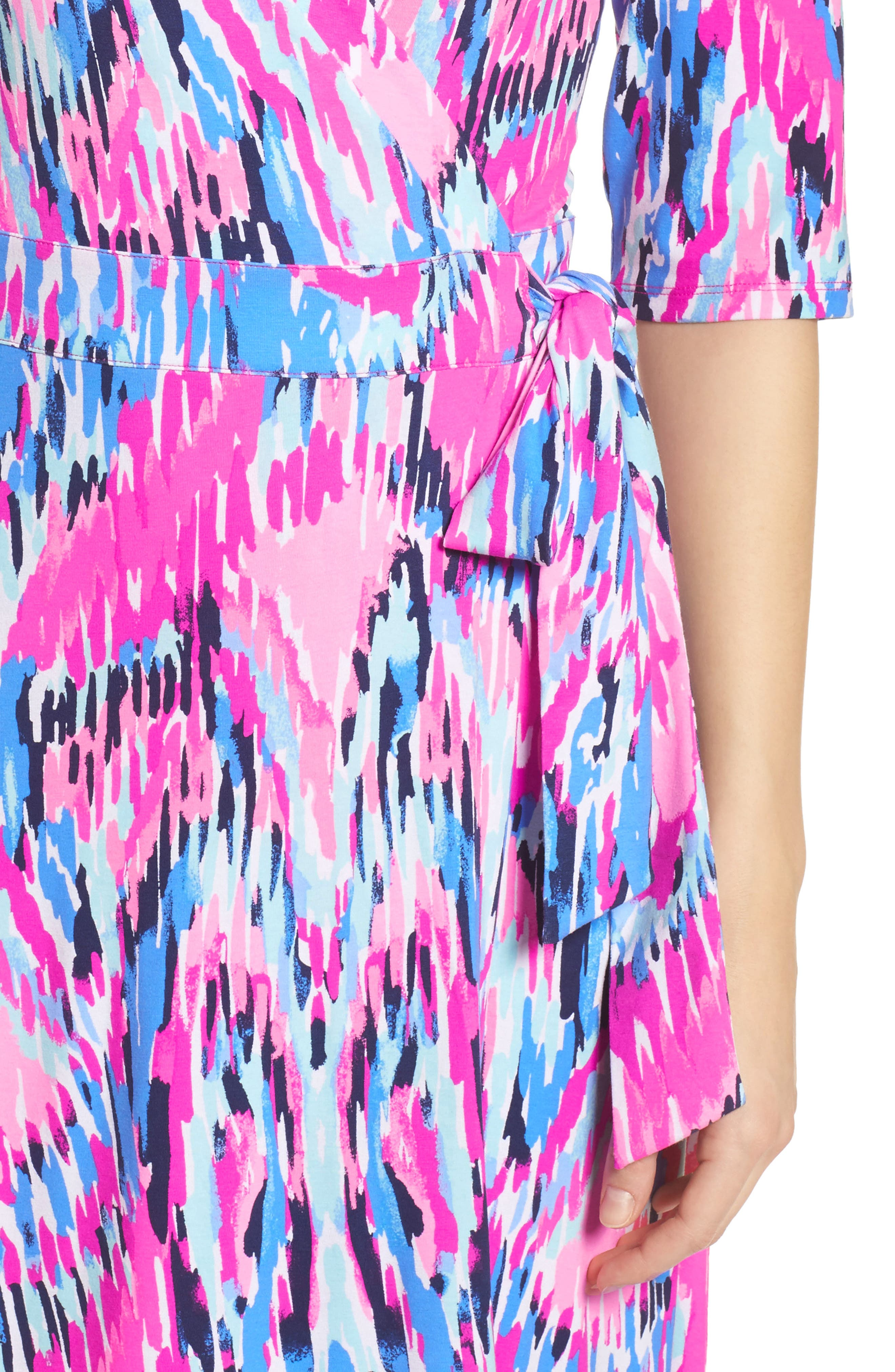 Marvista Wrap Maxi Dress,                             Alternate thumbnail 4, color,                             Multi Free Spirit