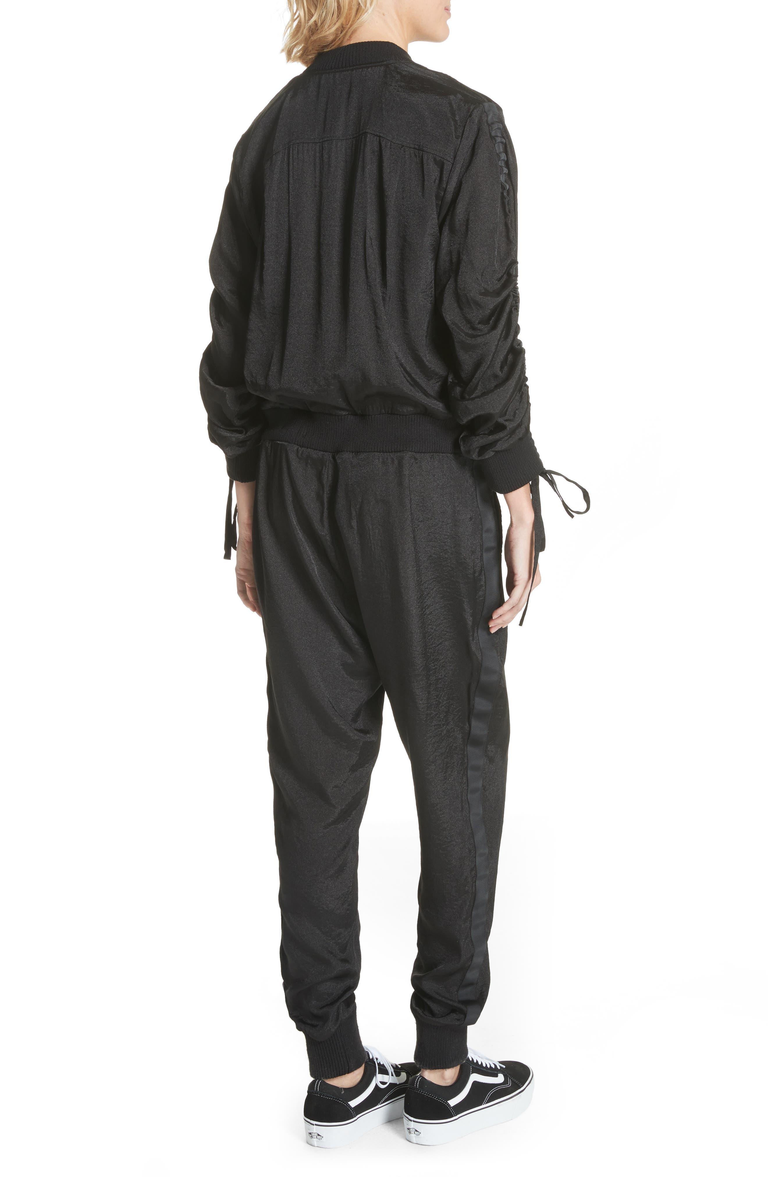 Alternate Image 2  - Clu Drawstring Sleeve Jumpsuit