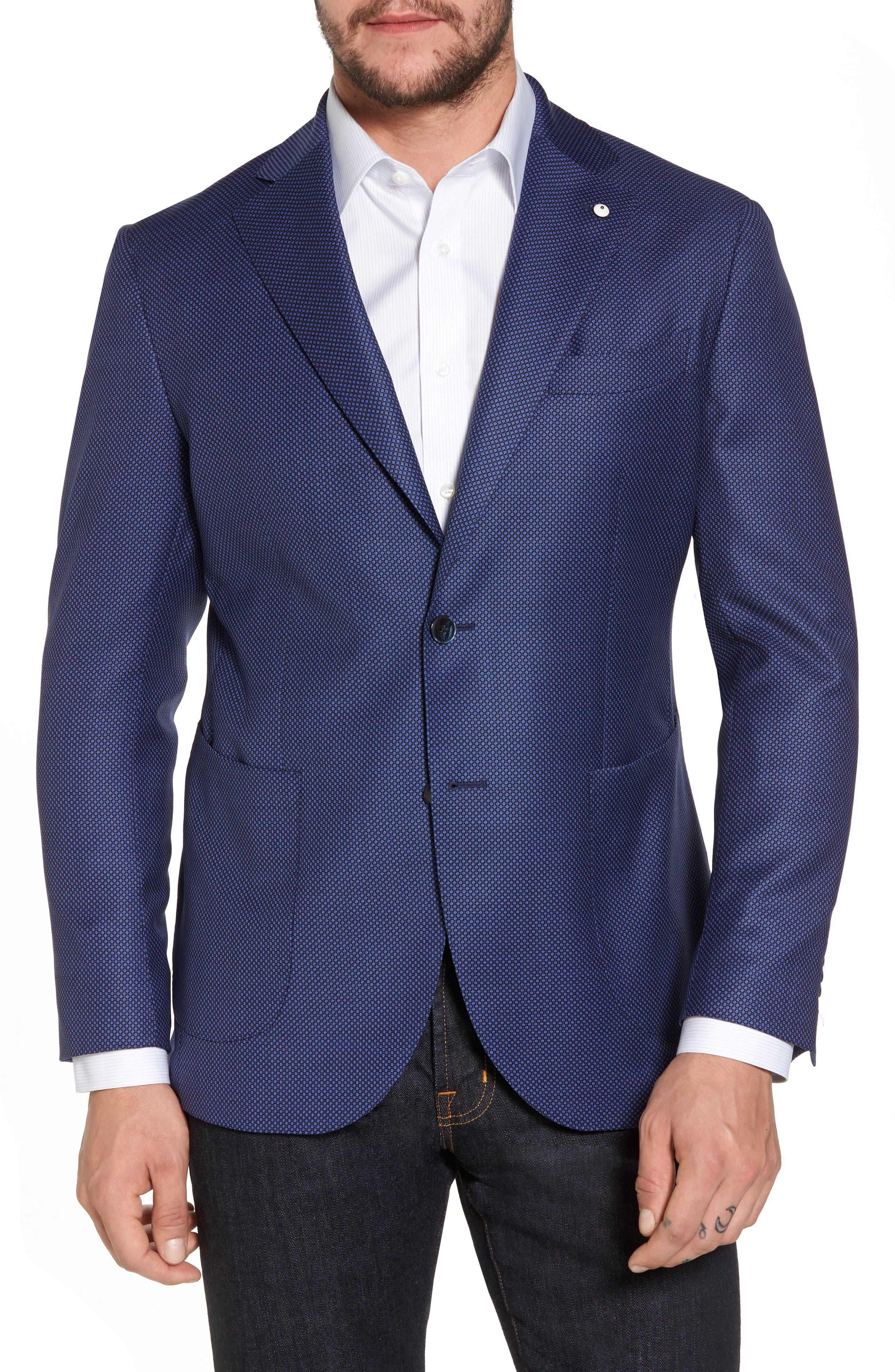 L.B.M. 1911 Classic Fit Wool Blazer