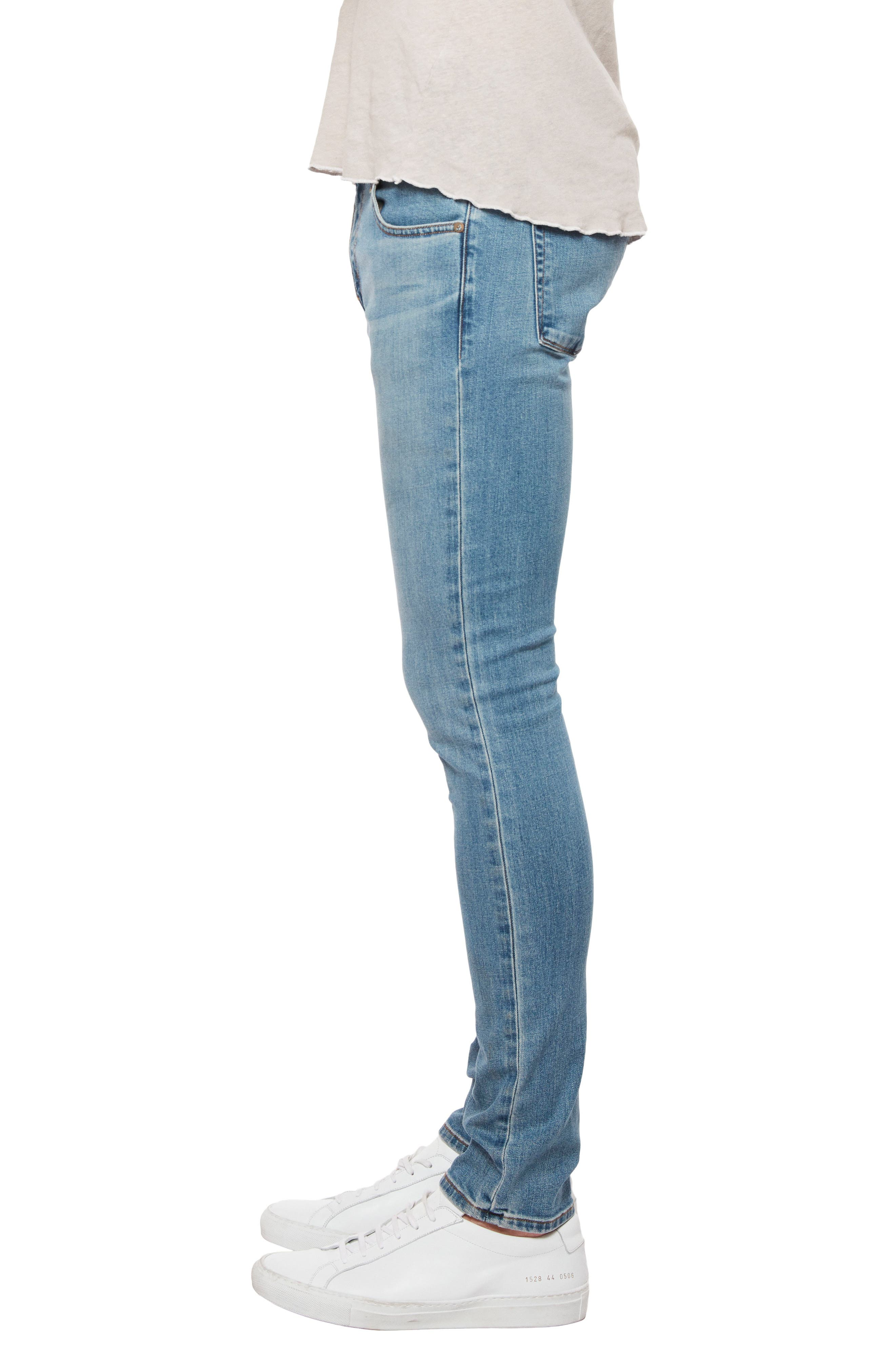 Skinny Fit Jeans,                             Alternate thumbnail 3, color,                             Stagon