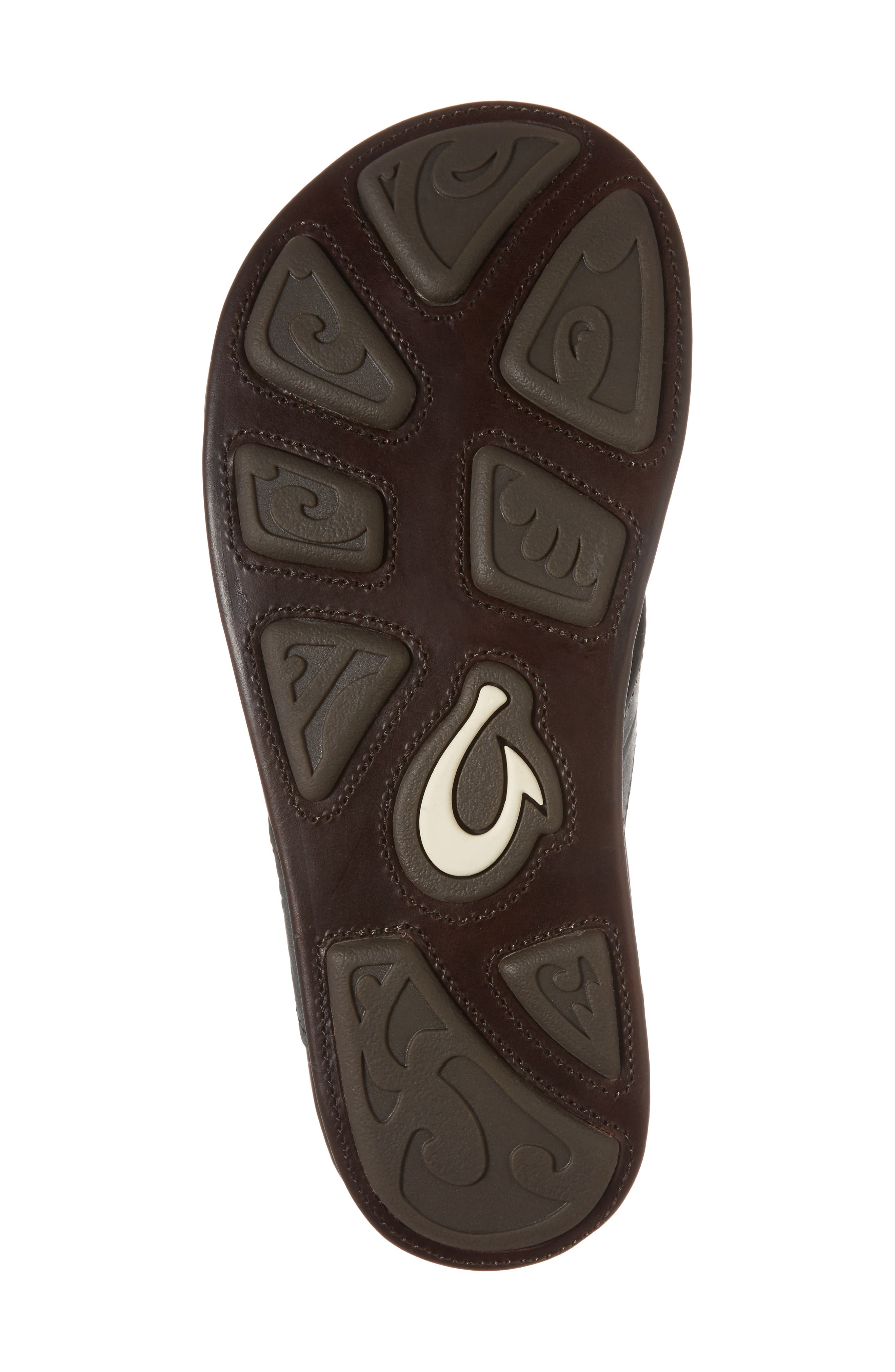 Kohana Kai Flip Flop,                             Alternate thumbnail 6, color,                             Moss/ Dark Wood