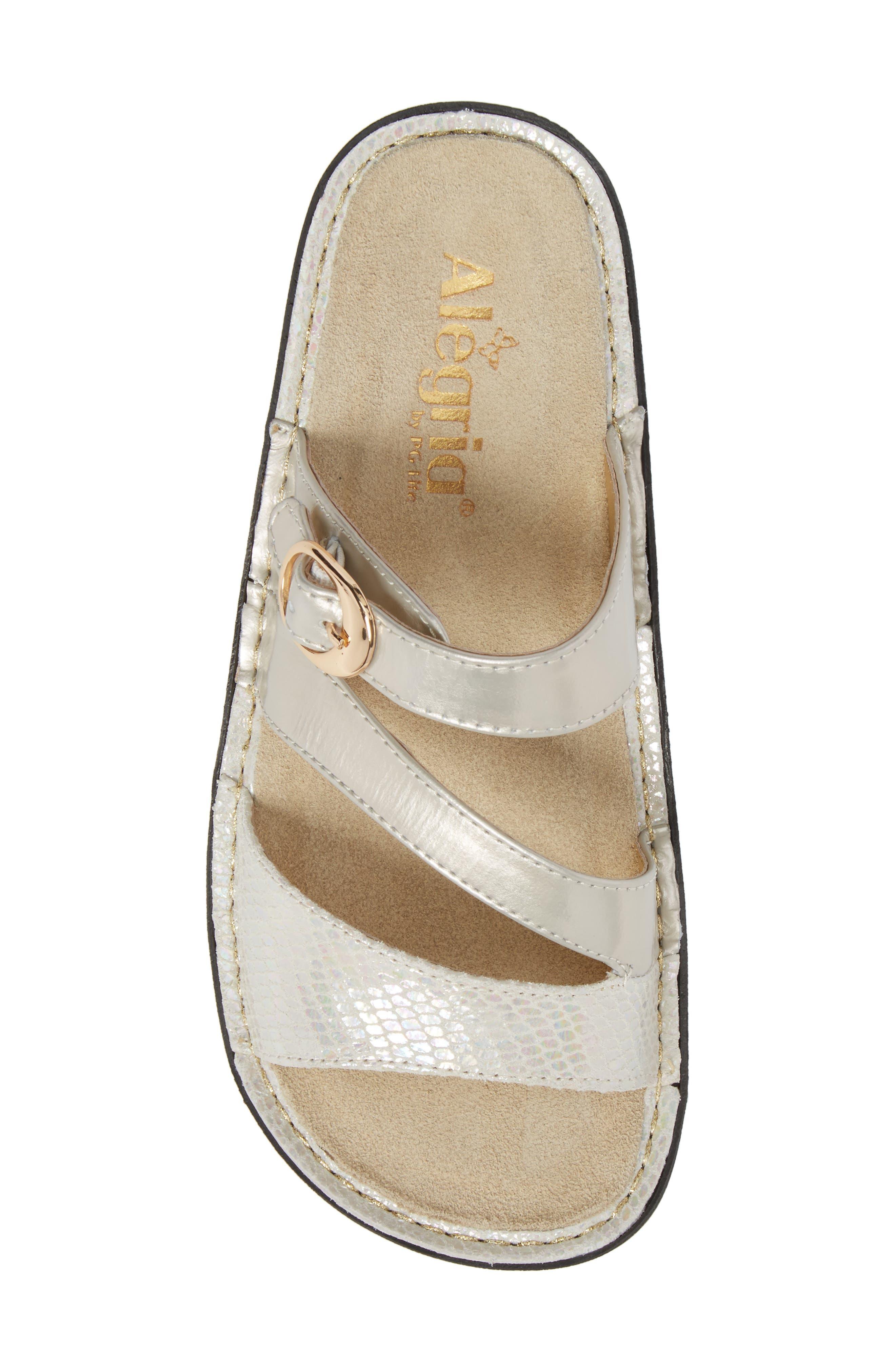 'Colette' Platform Sandal,                             Alternate thumbnail 5, color,                             Opfully Leather