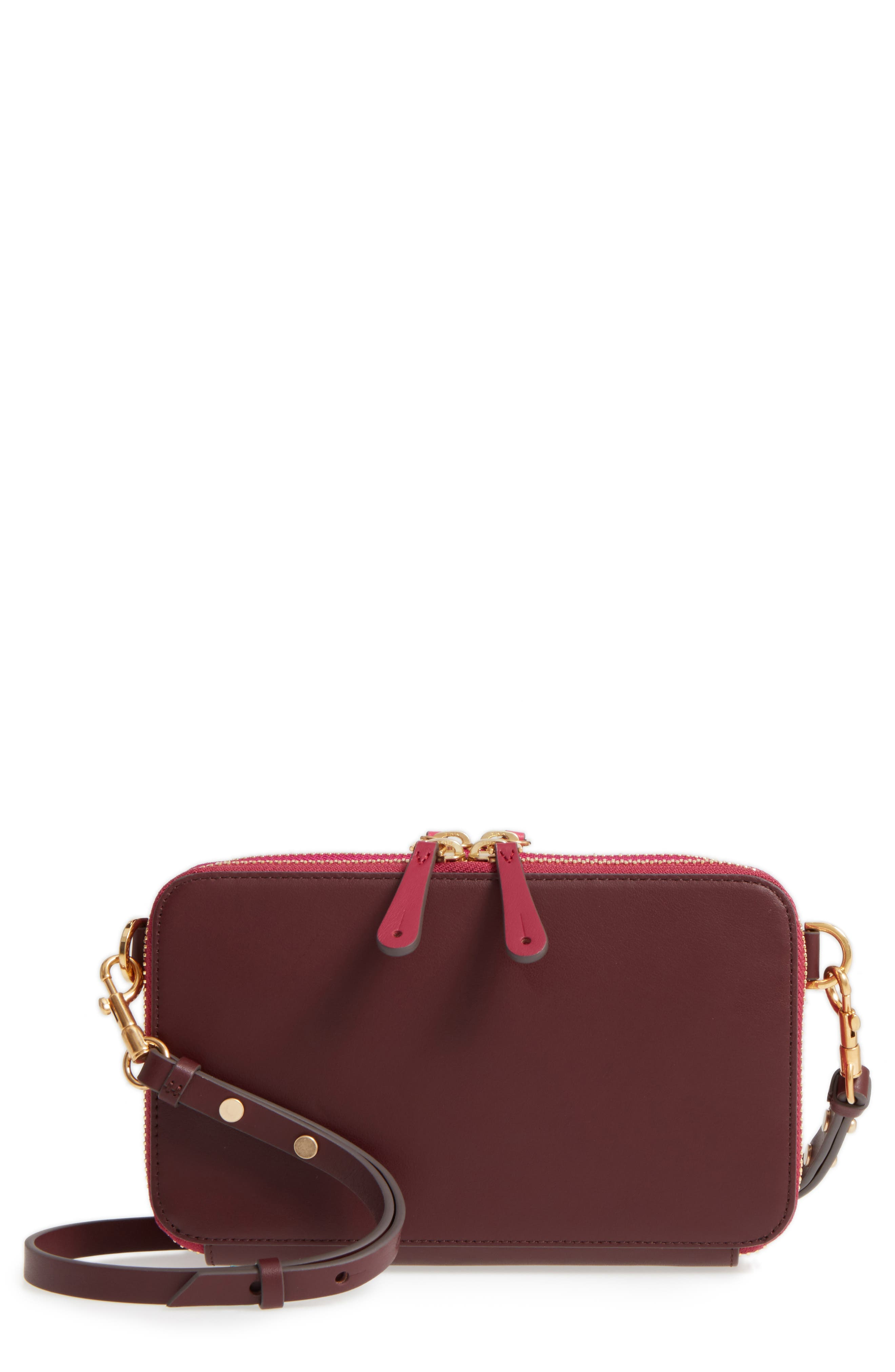 Alternate Image 1 Selected - Anya Hindmarch Stack Leather Crossbody Wallet