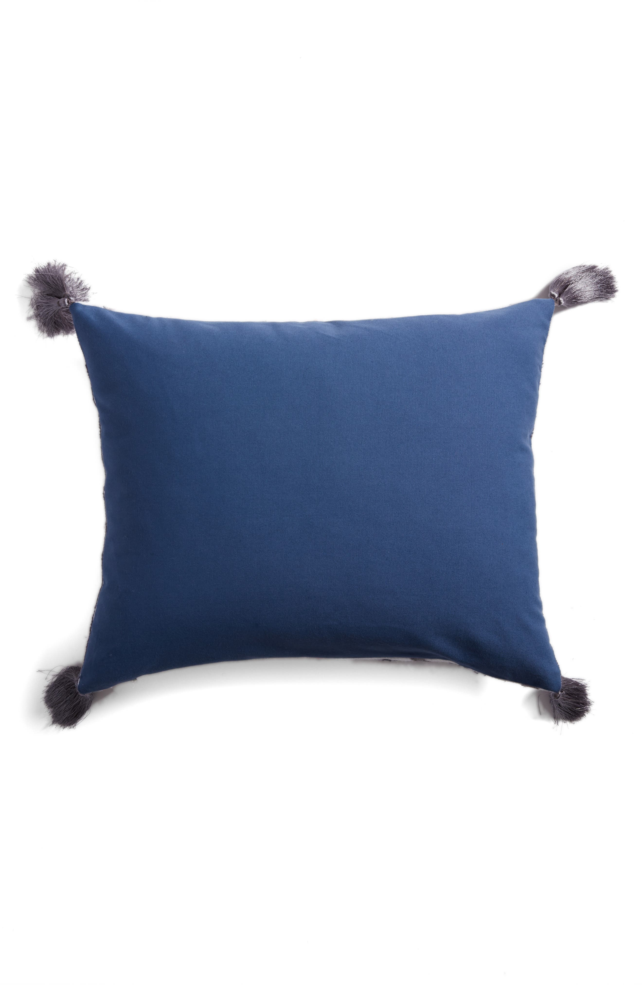 Saida Accent Pillow,                             Alternate thumbnail 2, color,                             Blue